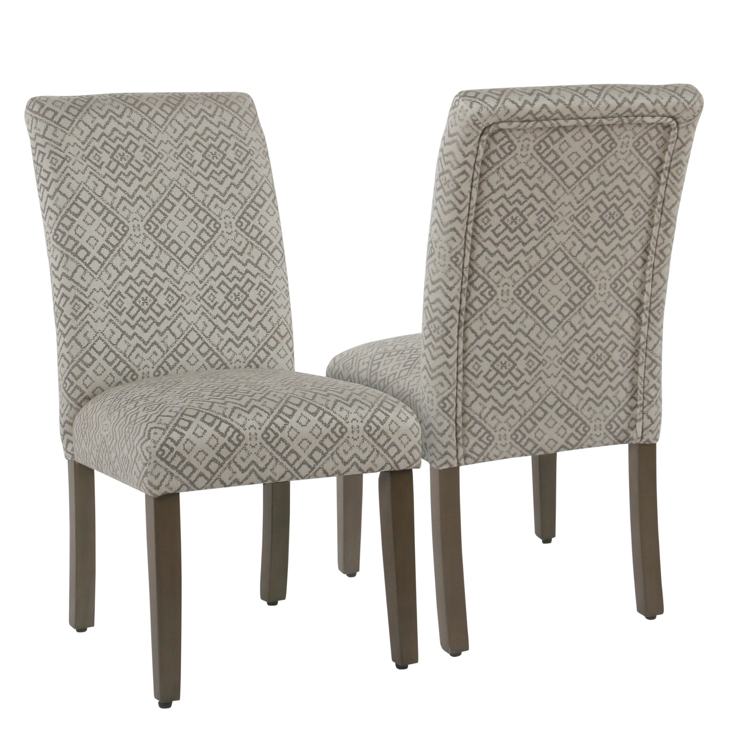 Freetown Upholstered Dining Chair For Aime Upholstered Parsons Chairs In Beige (View 7 of 15)
