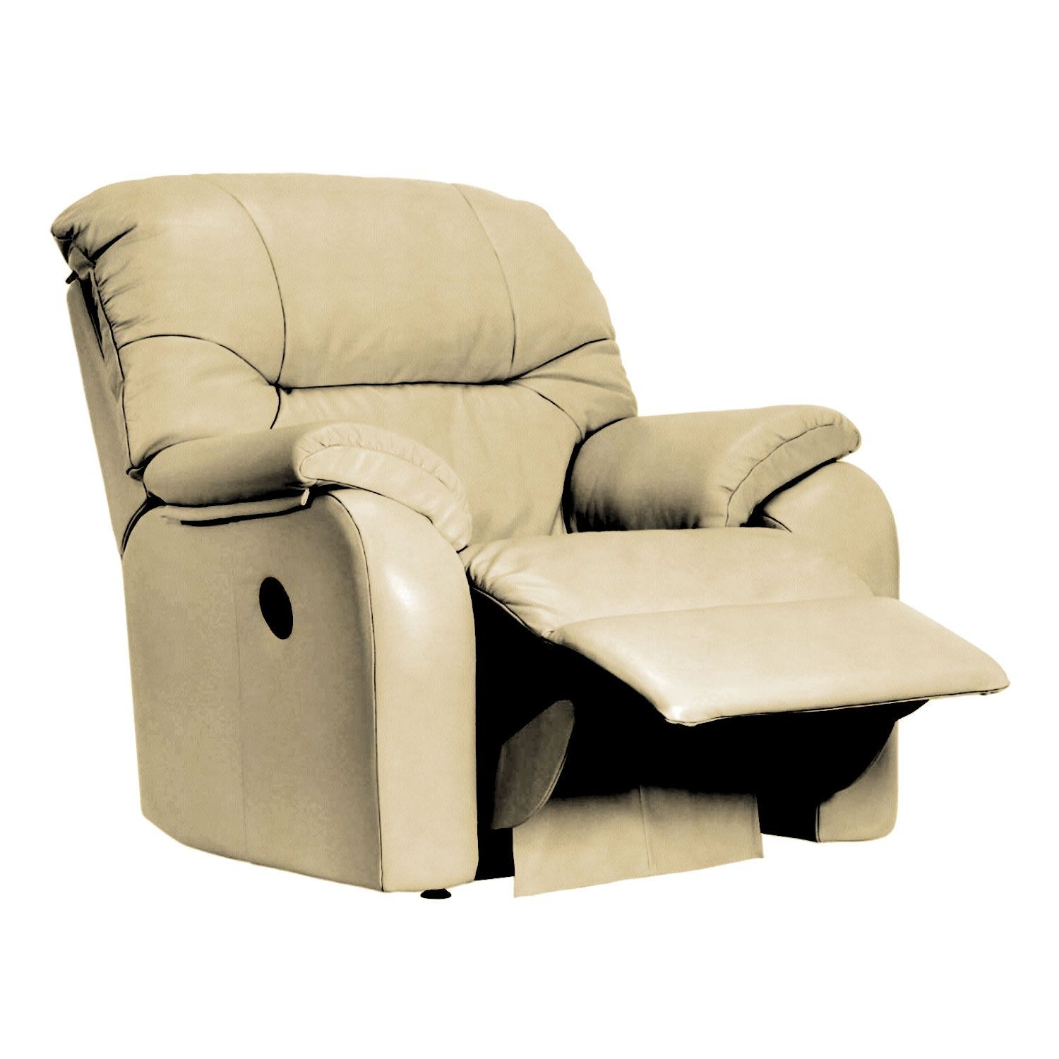 G Plan Mistral Manual Recliner Leather Armchair Throughout Portmeirion Armchairs (View 15 of 15)