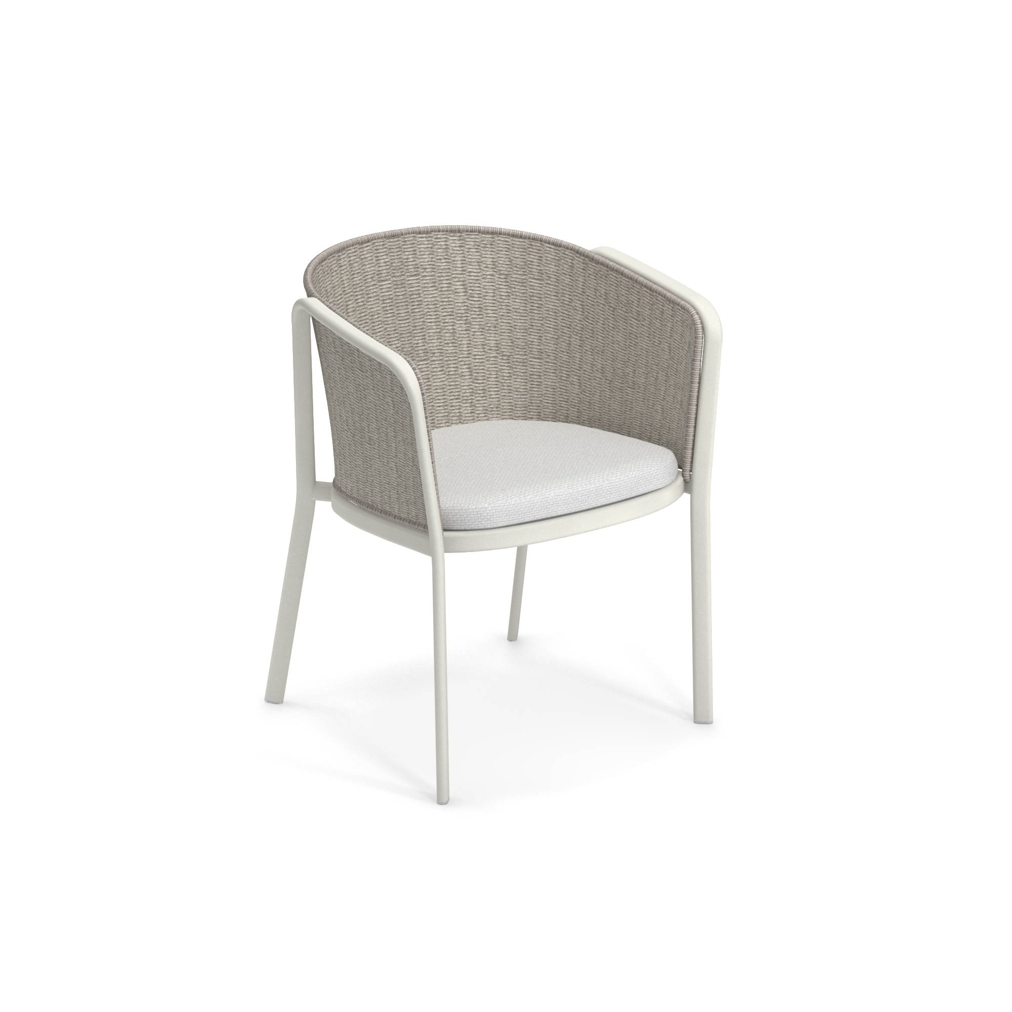 Garden Armchair / Outside In Aluminium, Polyester, Synthetic Pertaining To Leia Polyester Armchairs (View 11 of 15)