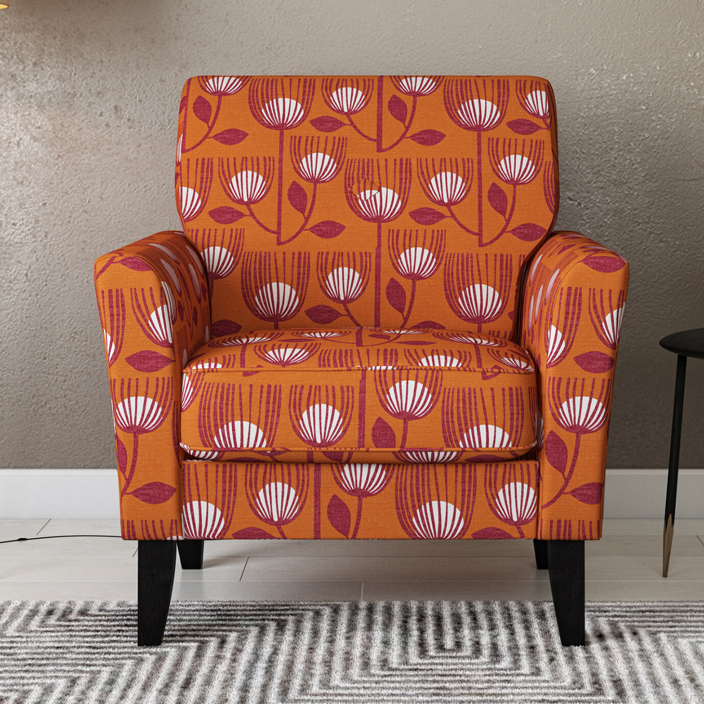 Geometric Accent Chairs You'Ll Love In 2021 | Wayfair With Deer Trail Armchairs (View 4 of 15)