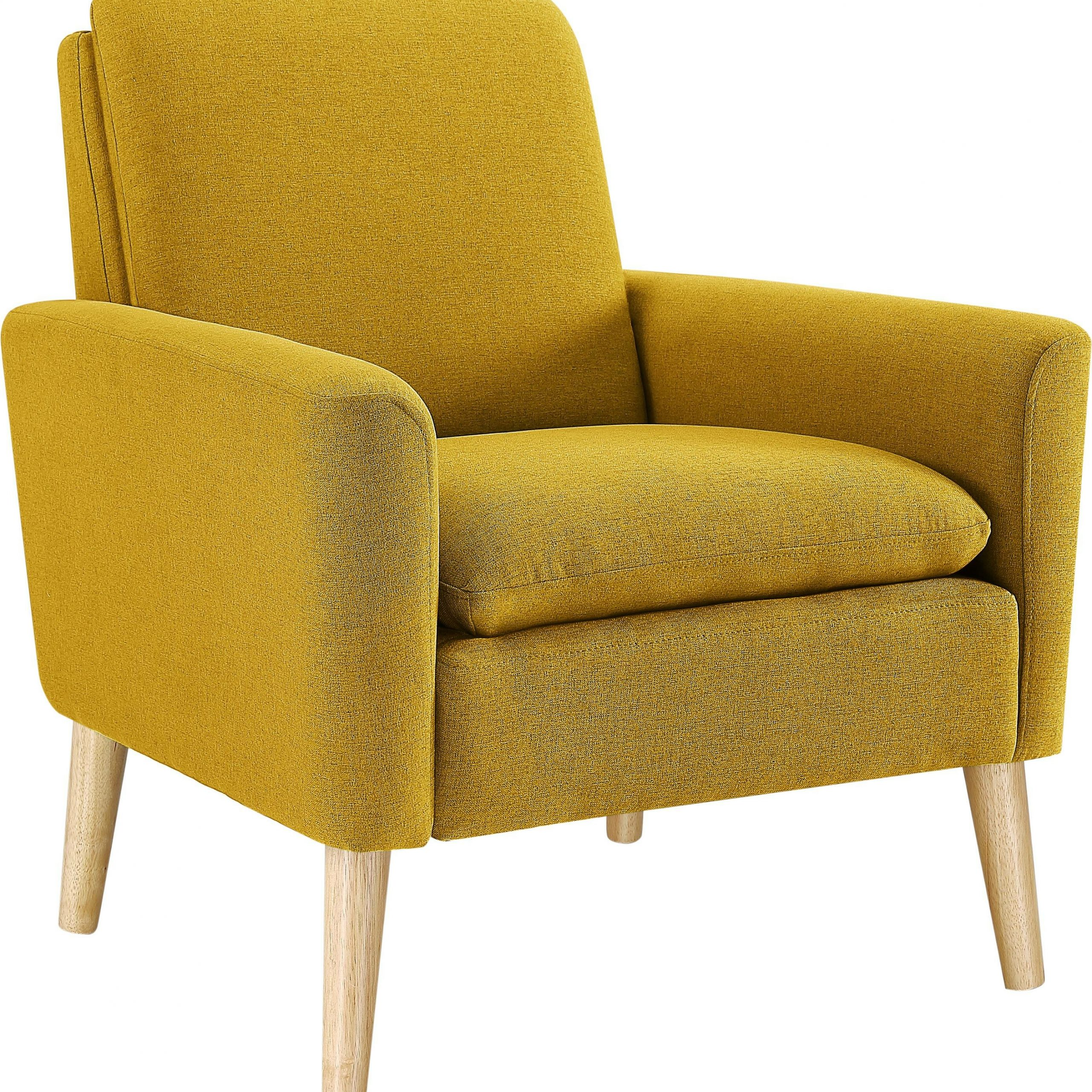 """George 30"""" W Linen Blend Armchair For Autenberg Armchairs (View 5 of 15)"""