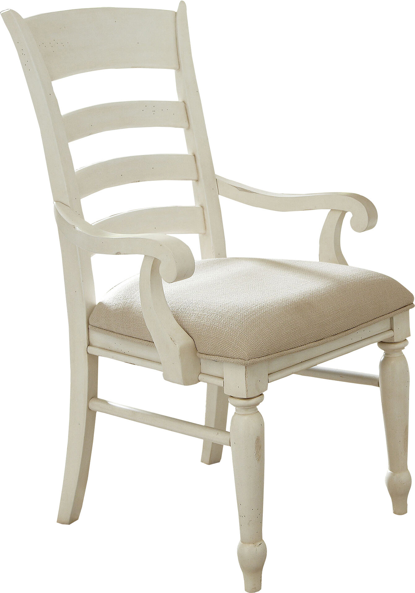 Georgina Ladder Back Arm Chair For Georgina Armchairs (Set Of 2) (View 7 of 15)