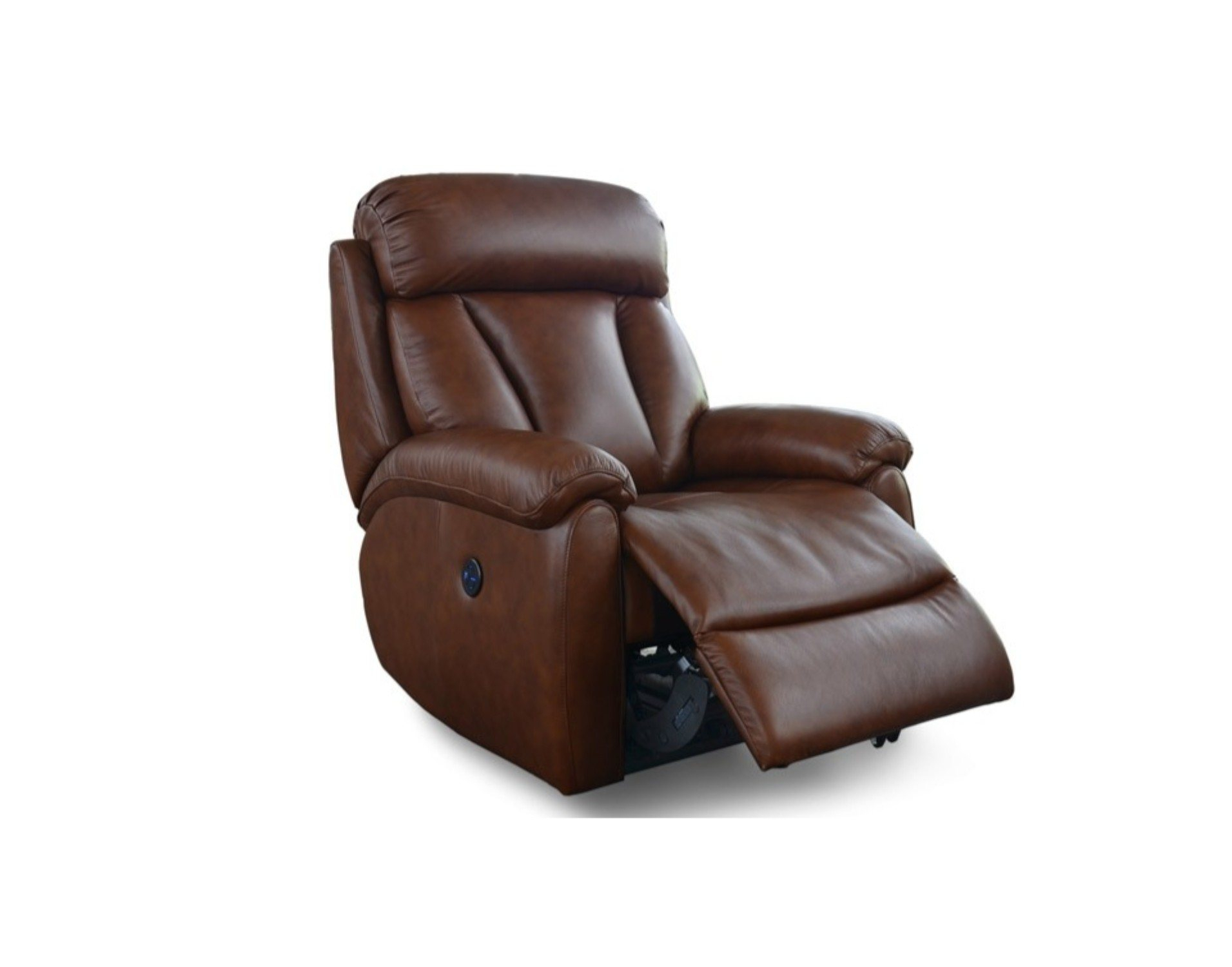 Georgina Leather Power Recliner Chair In Georgina Armchairs (Set Of 2) (View 13 of 15)