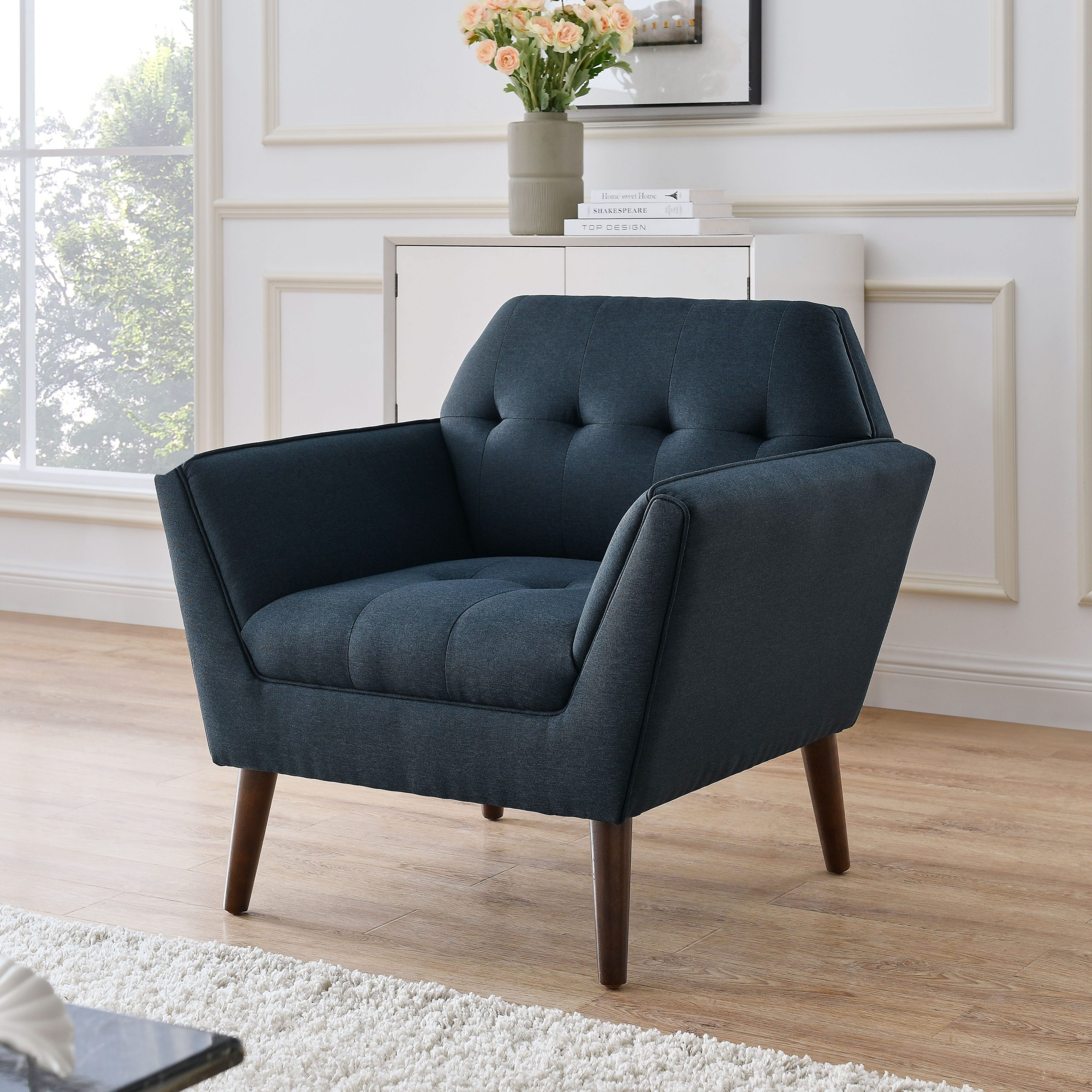 Glenna Estee Accent Armchair With Autenberg Armchairs (View 9 of 15)