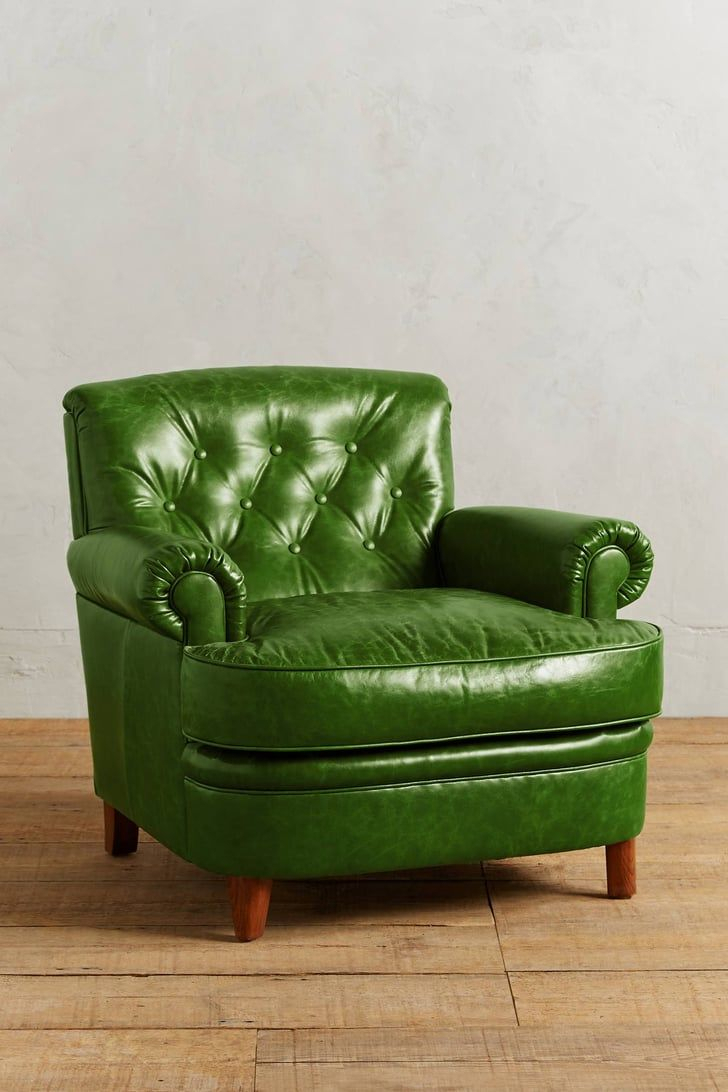 Green Hue Lends 60S Soulfulness Bolero Corrigan Chair | 10 Regarding Hutchinsen Polyester Blend Armchairs (View 10 of 15)