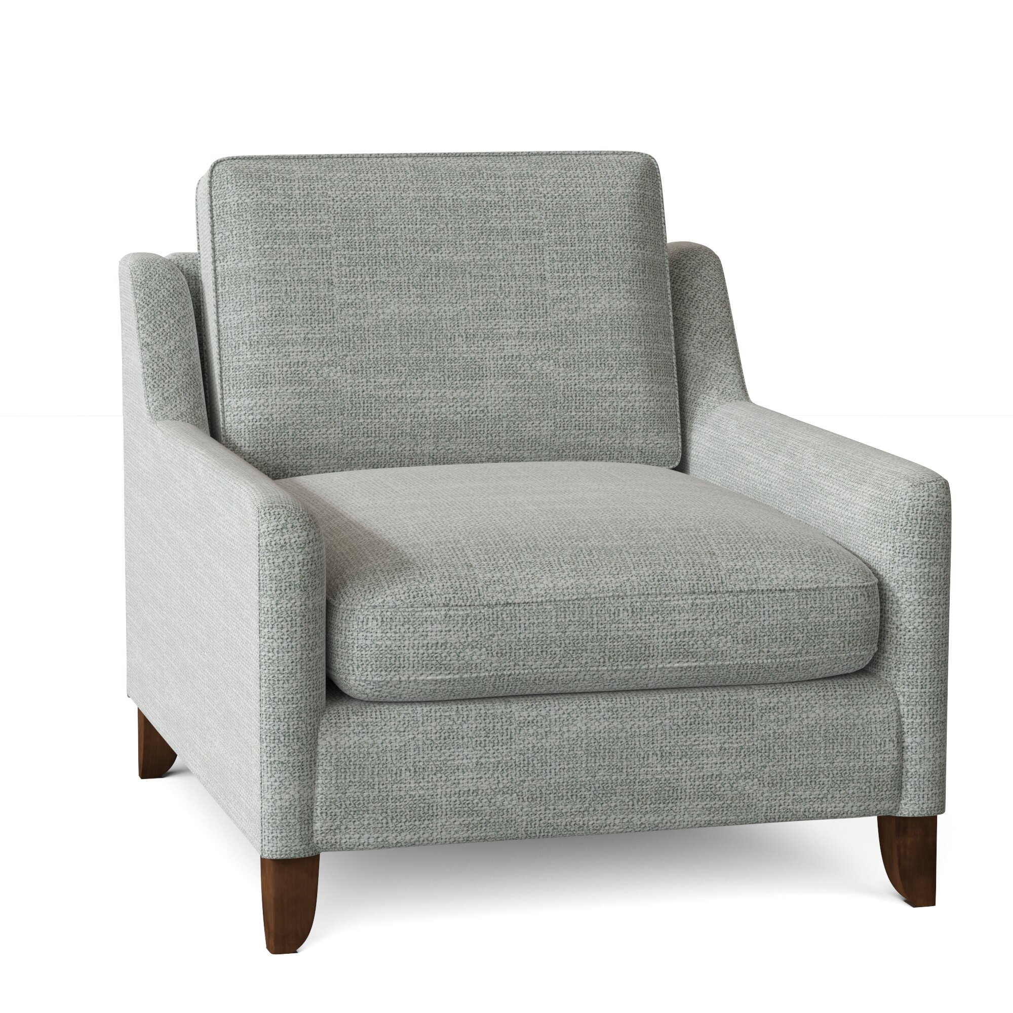 Grey Silver Accent Chairs You'Ll Love In 2021 | Wayfair Throughout Brookhhurst Avina Armchairs (View 9 of 15)
