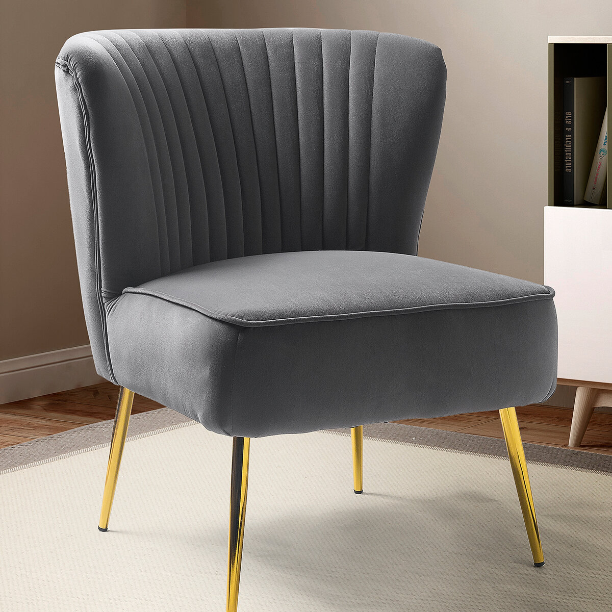Grey & Yellow Accent Chairs You'Ll Love In 2021 | Wayfair Regarding Bernardston Armchairs (View 5 of 15)