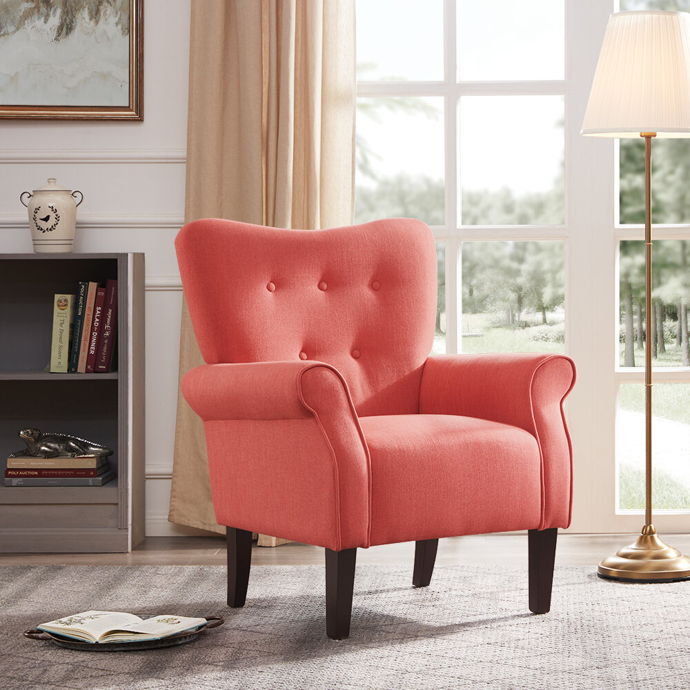 Grey & Yellow Accent Chairs You'Ll Love In 2021 | Wayfair Within Bernardston Armchairs (View 7 of 15)