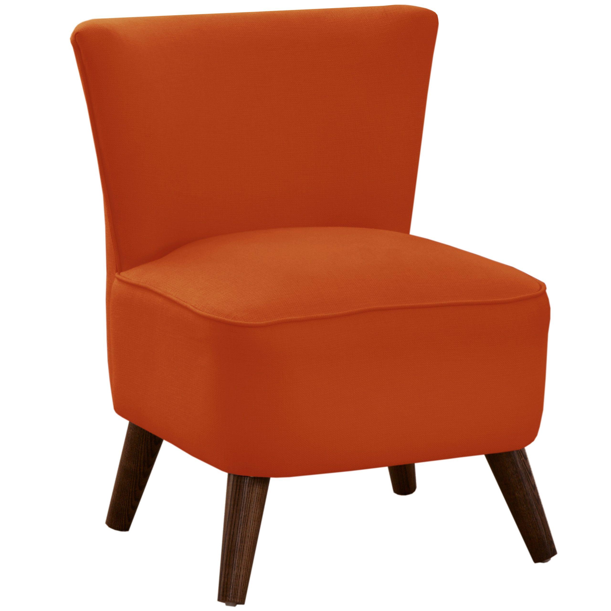 Griner Slipper Chair Intended For Easterling Velvet Slipper Chairs (View 3 of 15)