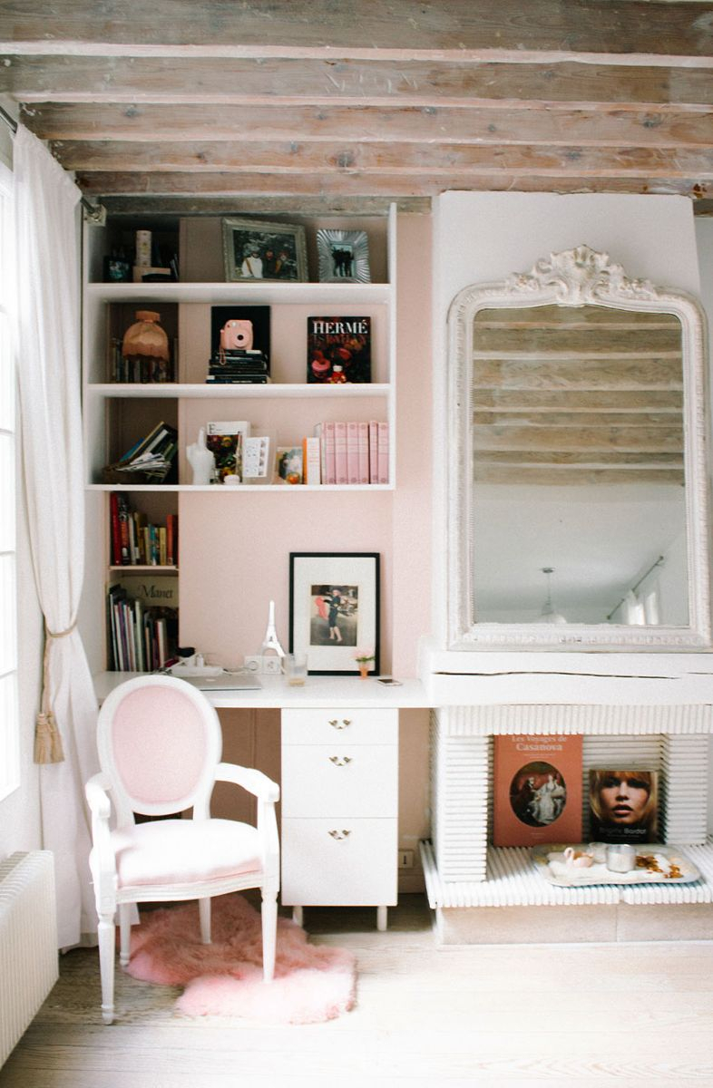Haleigh Chastain Walsworth'S Paris Apartment Tour – The Inside Haleigh Armchairs (View 14 of 15)