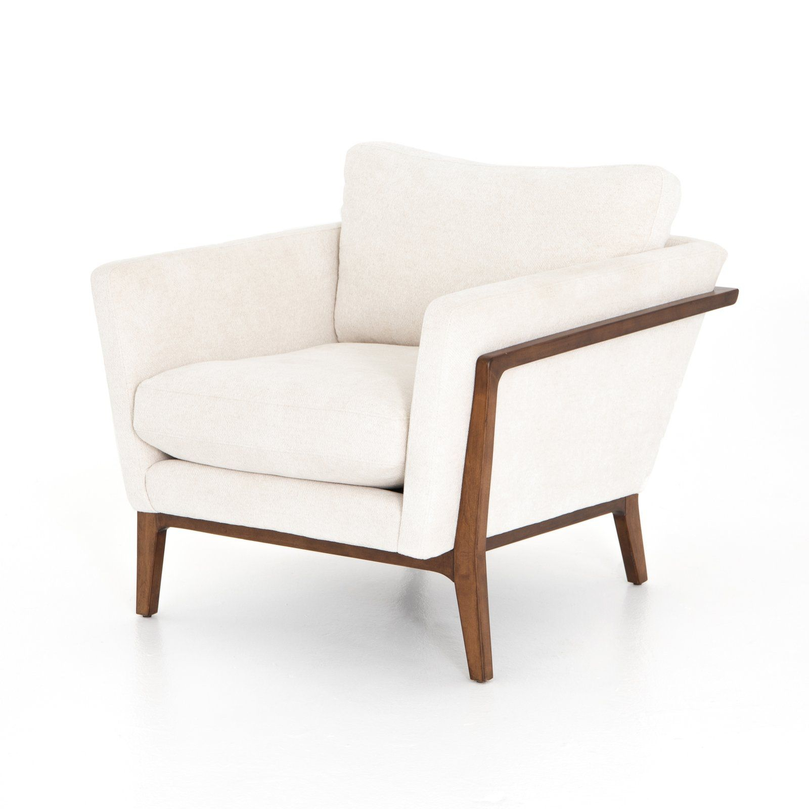 Harrison Chair In 2020 | Upholstered Chairs, Armchair, Side Pertaining To Leppert Armchairs (View 10 of 15)