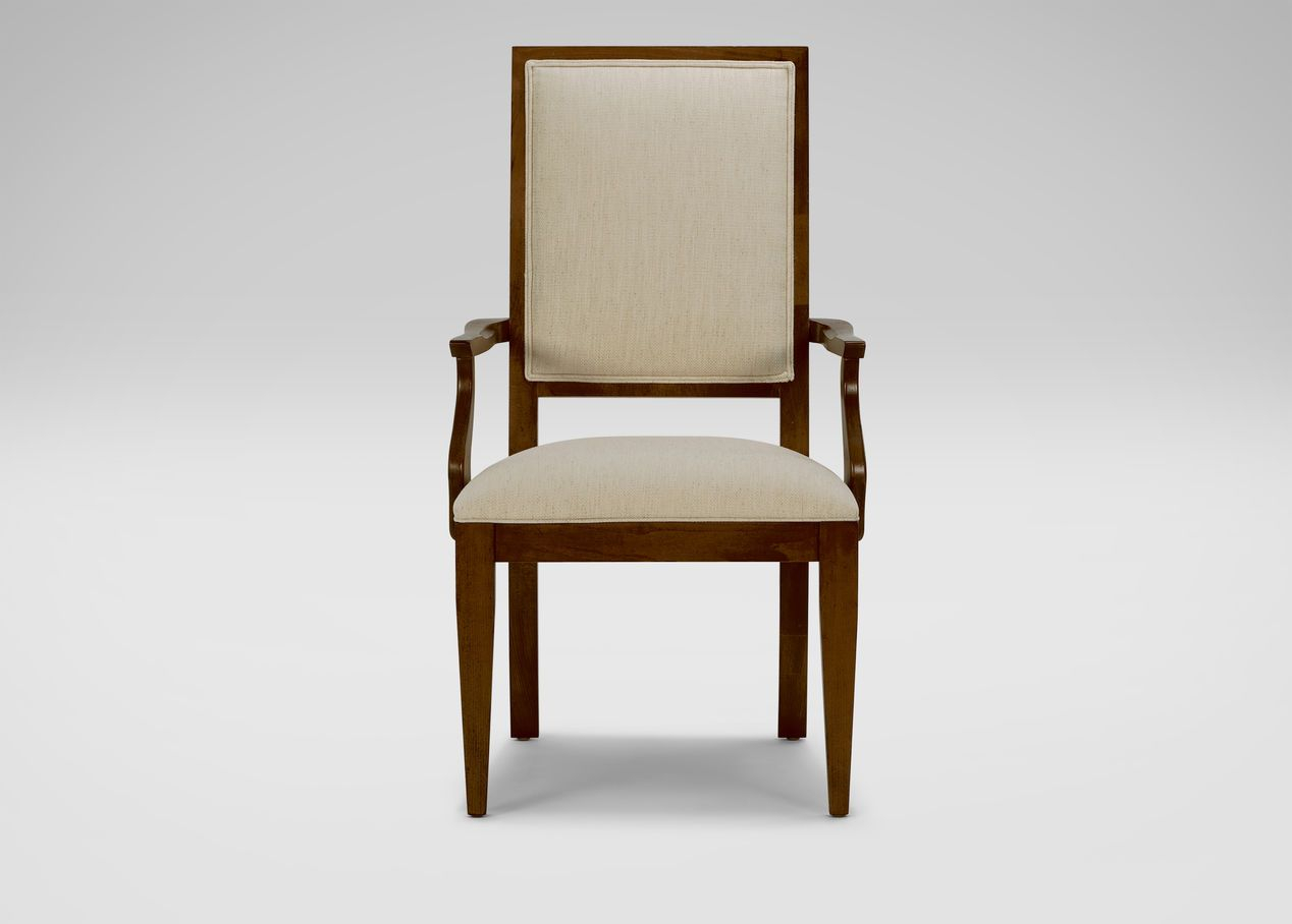 Hayden Tapered Leg Armchair | Arm & Host Chairs | Chair With Claudel Polyester Blend Barrel Chairs (View 15 of 15)