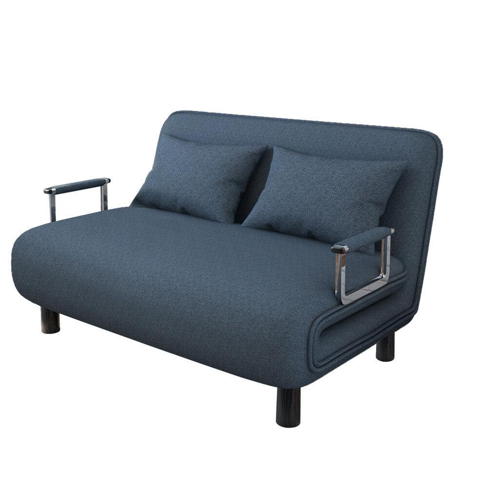 "Hikaru 47"" Wide Tuxedo Arm Convertible Sofa Inside Akimitsu Barrel Chair And Ottoman Sets (View 10 of 15)"