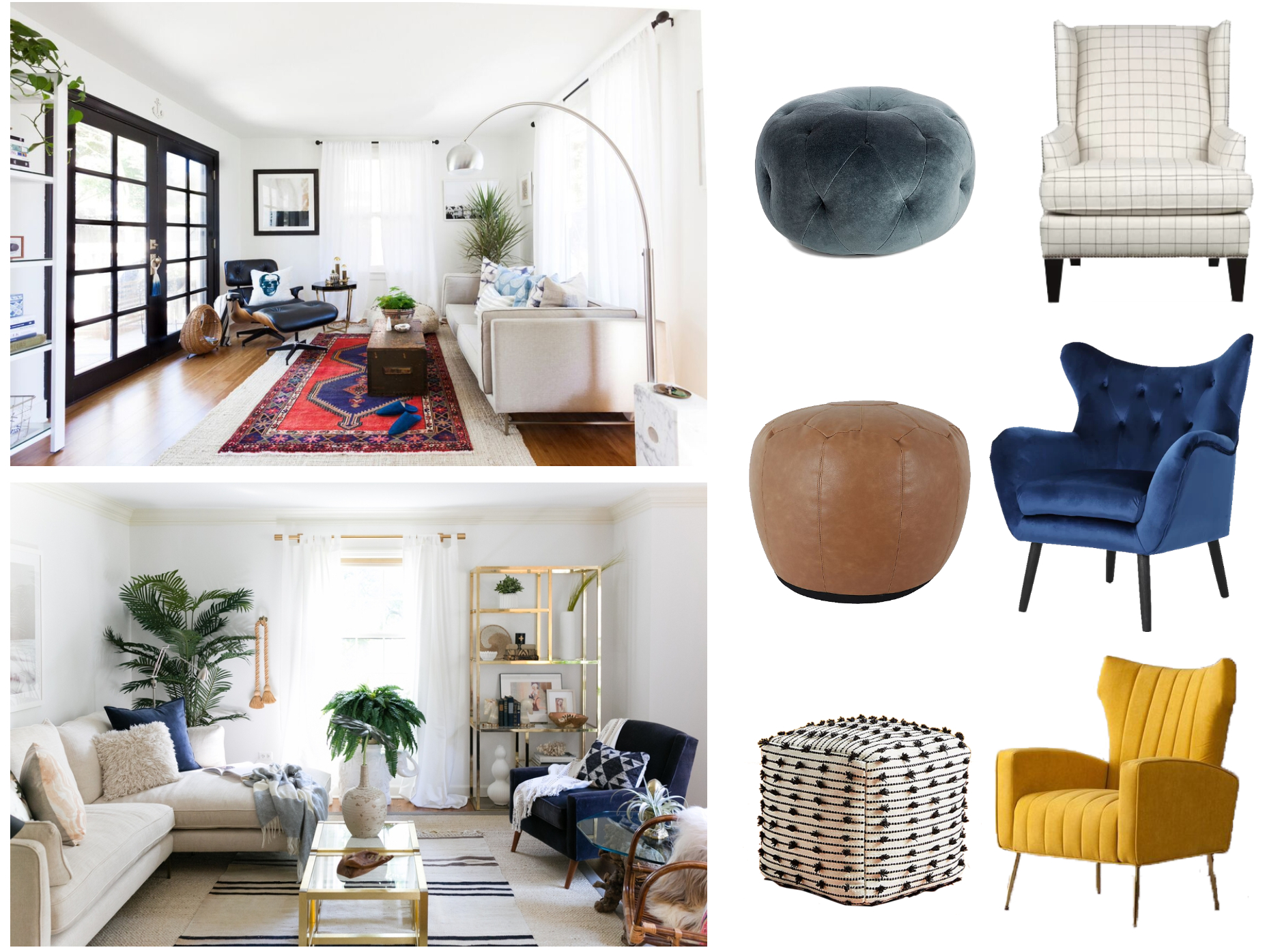How Do I Pick A Chair To Pull My Modern Space Together With Lauretta Velvet Wingback Chairs (View 14 of 15)