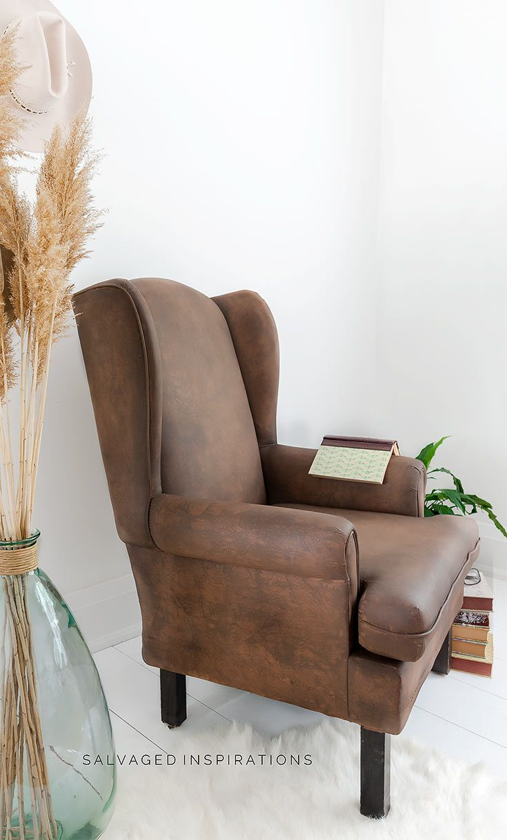 How To Make Fabric Look Like Leather In 2020 | Leather Chair With Jill Faux Leather Armchairs (View 13 of 15)