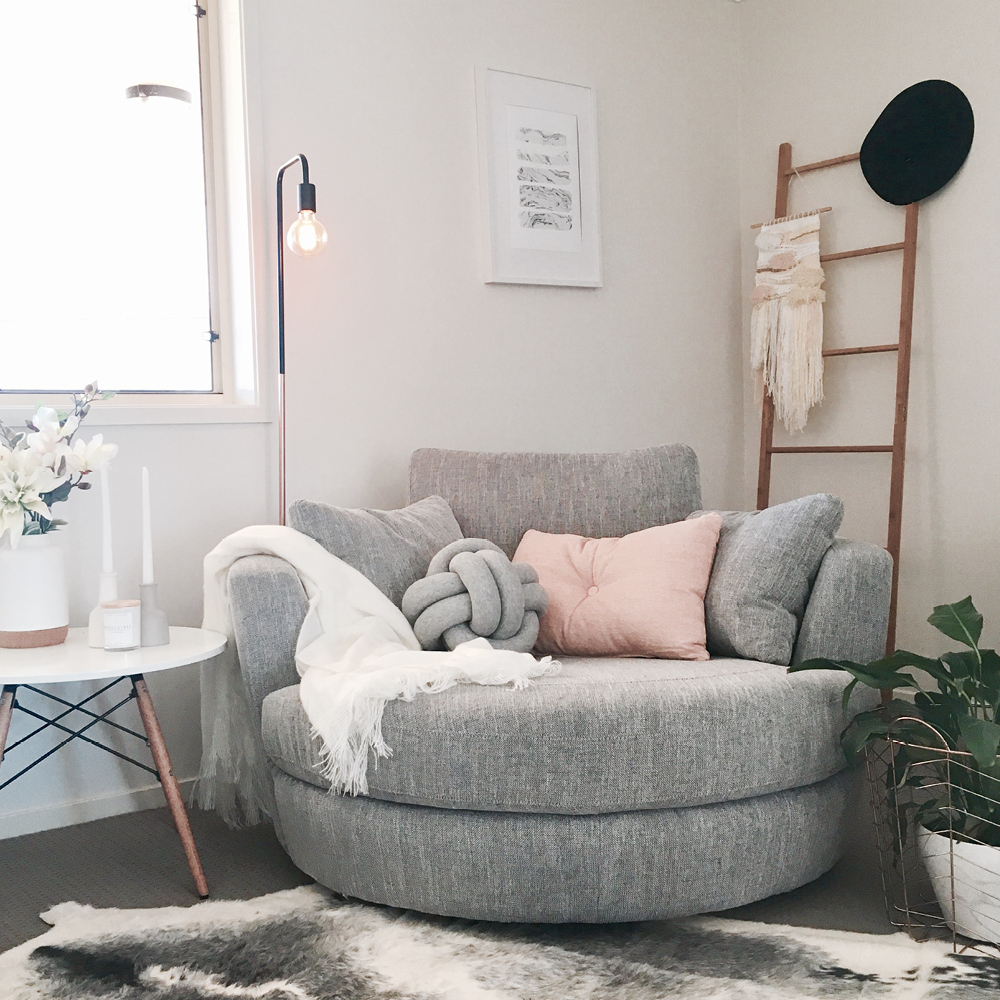 How To Style Your Snuggle® Chair: Three Ways With Jayde Inside Jayde Armchairs (View 8 of 15)