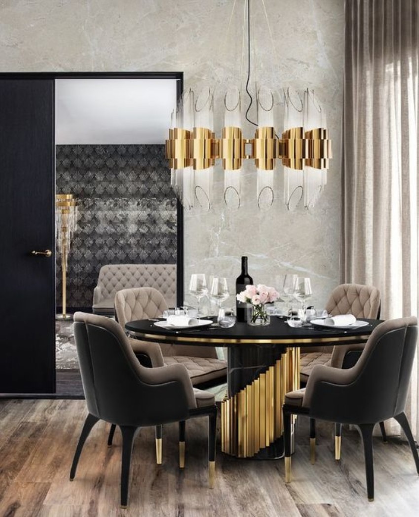 Inspire Yourself With These Upholstered Pieces From Covet Nyc Intended For Madison Avenue Tufted Cotton Upholstered Dining Chairs (Set Of 2) (View 15 of 15)