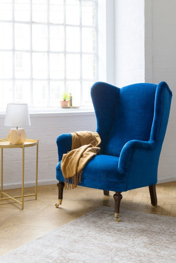 Interaction Design #Armchair Blue Armchair, Cozy Armchair For Live It Cozy Armchairs (View 2 of 15)