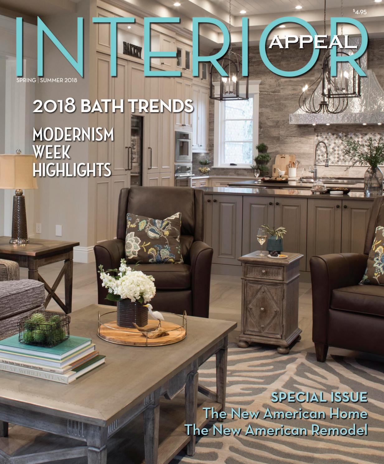 Interior Appeal Spring/Summer 2018Orange Appeal – Issuu Inside Gilad Faux Leather Barrel Chairs (View 12 of 15)