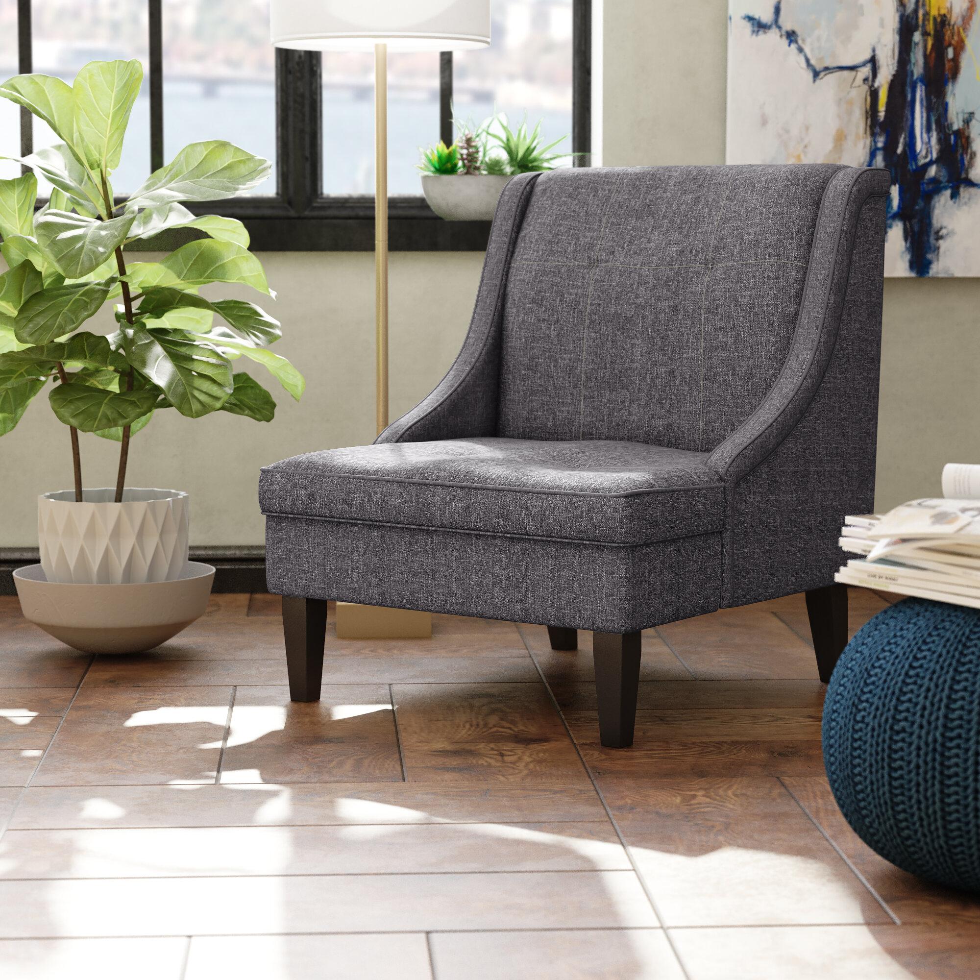 Janiyah Slipper Chair Throughout Aniruddha Slipper Chairs (View 5 of 15)