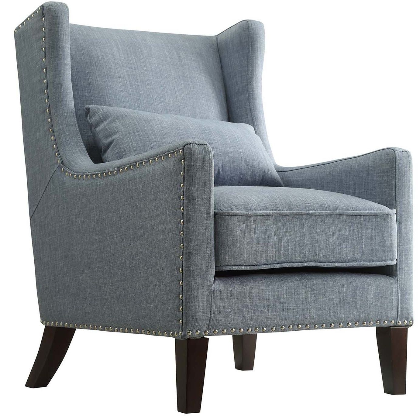 Kingstown Home Jeannette Wingback Arm Chair | Home Decor Throughout Andover Wingback Chairs (View 15 of 15)