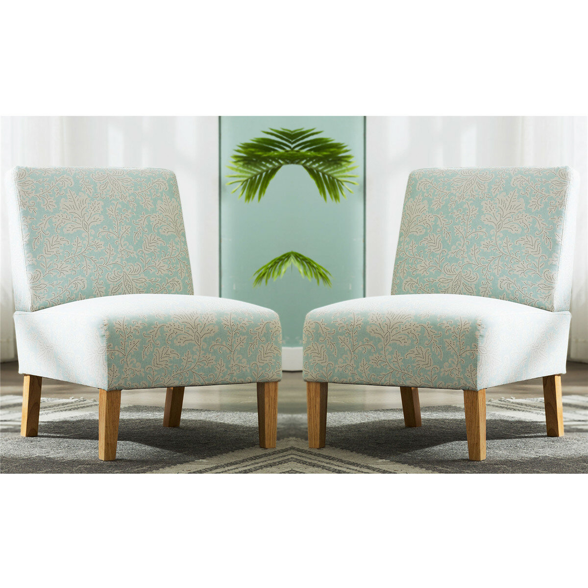 """Kiska 21"""" Slipper Chair With Goodspeed Slipper Chairs (Set Of 2) (View 12 of 15)"""