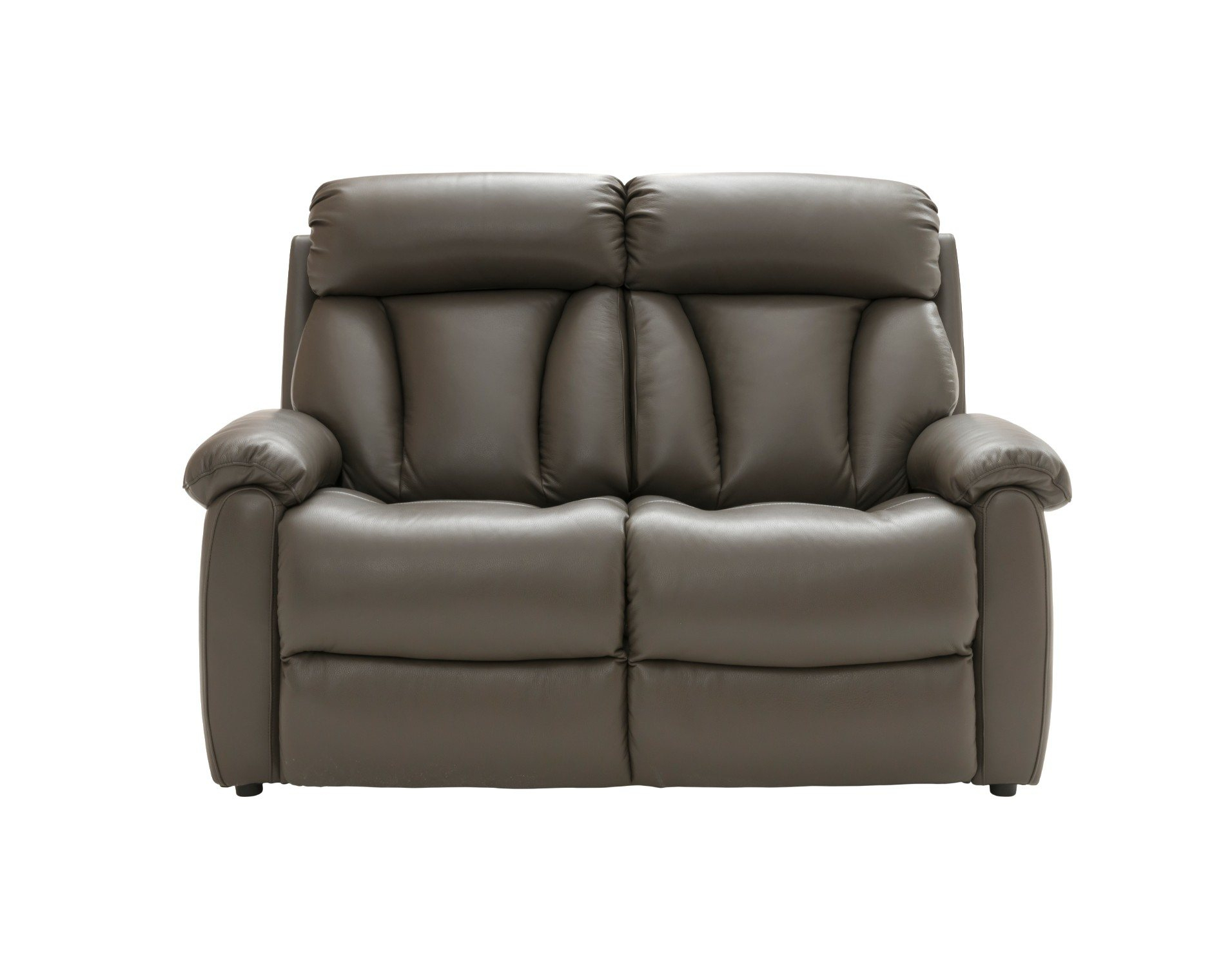 La Z Boy Georgina 2 Seater Leather Sofa Intended For Georgina Armchairs (Set Of 2) (View 4 of 15)