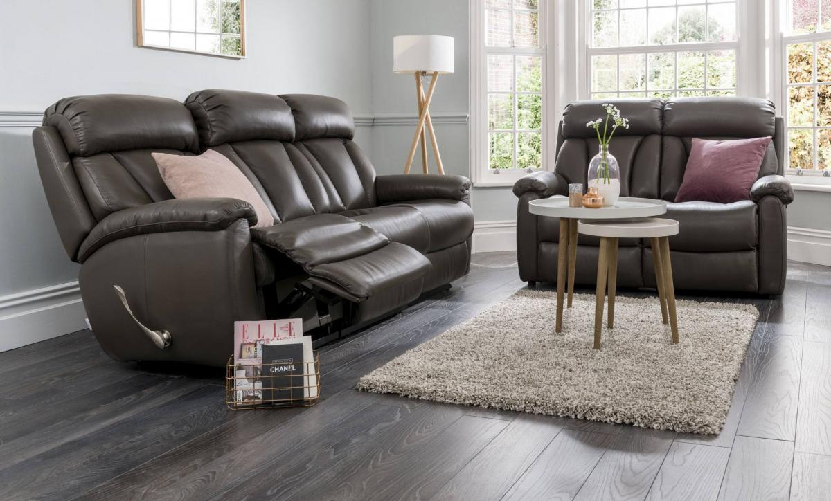 La Z Boy Georgina Sofa Collection At Relax Sofas And Beds With Georgina Armchairs (Set Of 2) (View 5 of 15)