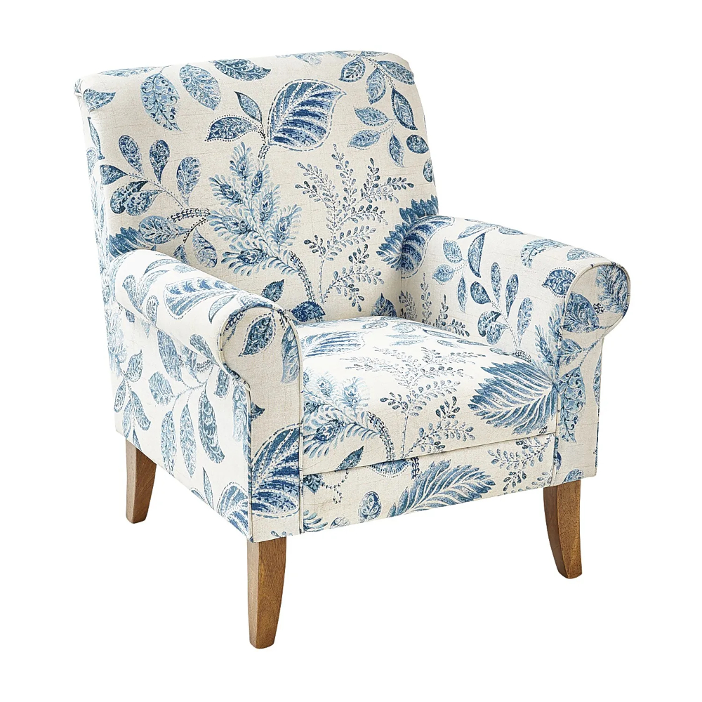 Laila Armchair | Armchair, Blue Armchair, Accent Chairs For Within Wainfleet Armchairs (Photo 9 of 15)