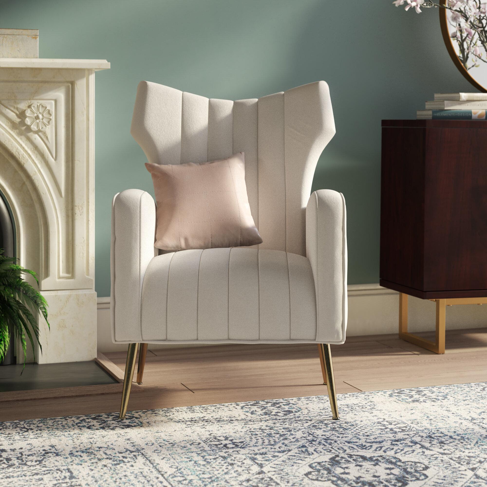 Featured Image of Lauretta Velvet Wingback Chairs