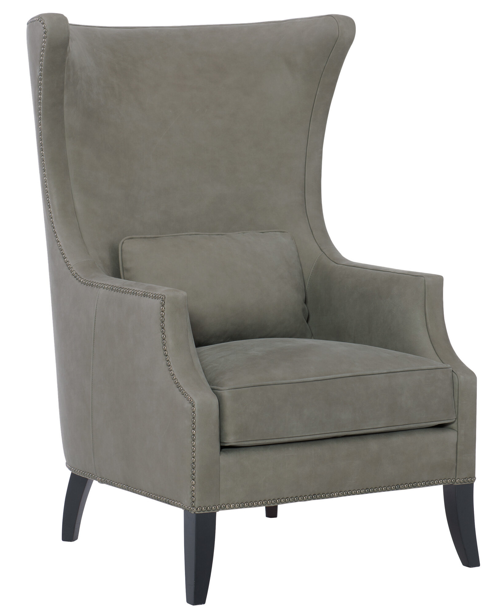Leather Wingback Accent Chairs You'Ll Love In 2021 | Wayfair Inside Gallin Wingback Chairs (View 4 of 15)
