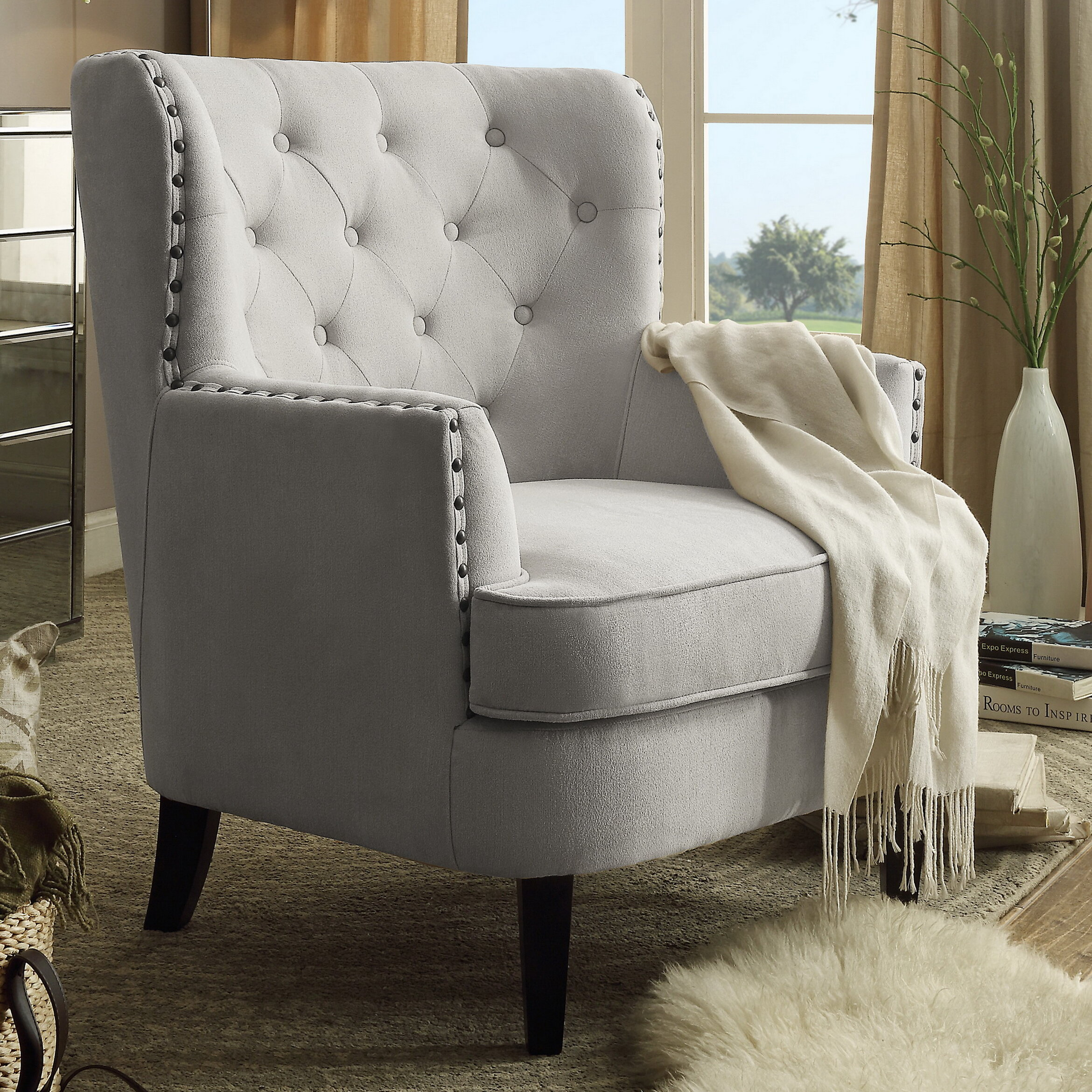 Featured Image of Lenaghan Wingback Chairs