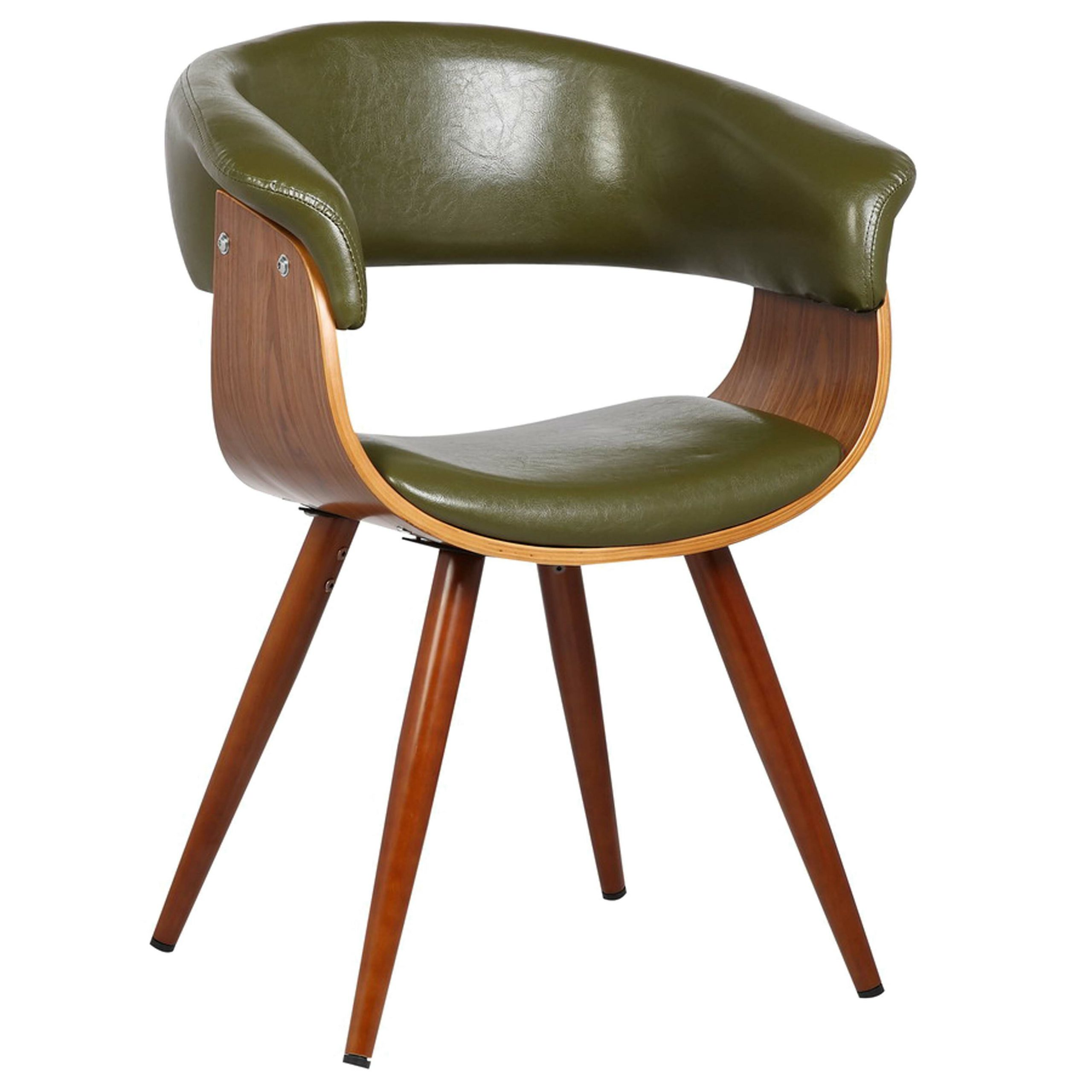 Liston Barrel Chair Pertaining To Liston Faux Leather Barrel Chairs (View 3 of 15)