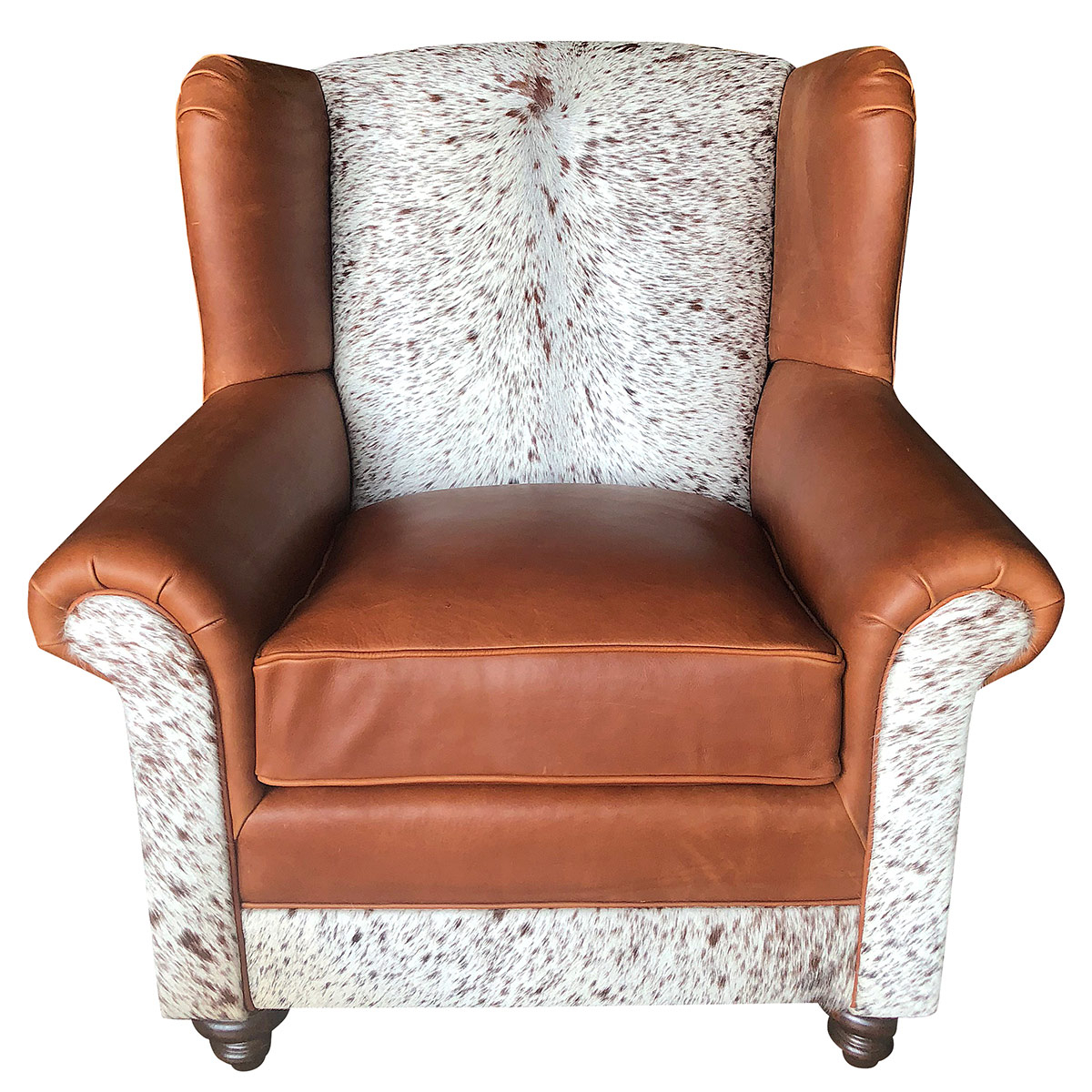 Longhorn Oversized Wingback Chair Throughout Sweetwater Wingback Chairs (View 14 of 15)