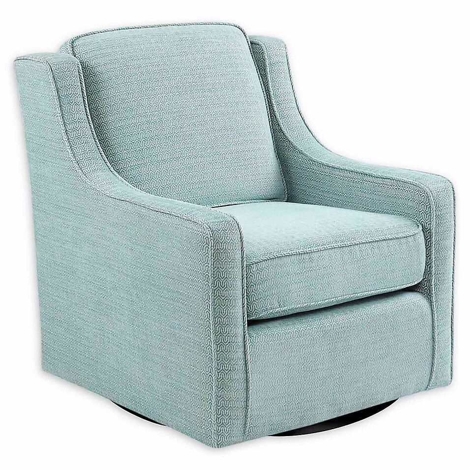 Madison Park™ Polyester Swivel Harris Chair | Swivel Chair For Vineland Polyester Swivel Armchairs (View 9 of 15)