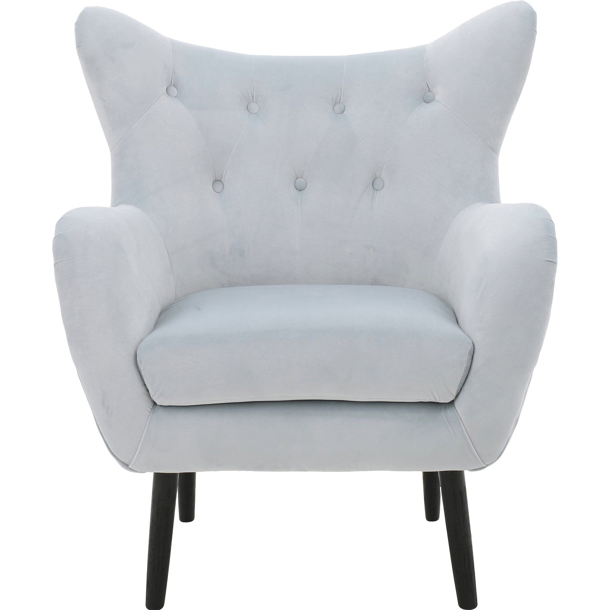 Main Image Zoomed | Wingback Chair, Accent Chairs, Mid In Bouck Wingback Chairs (View 11 of 15)