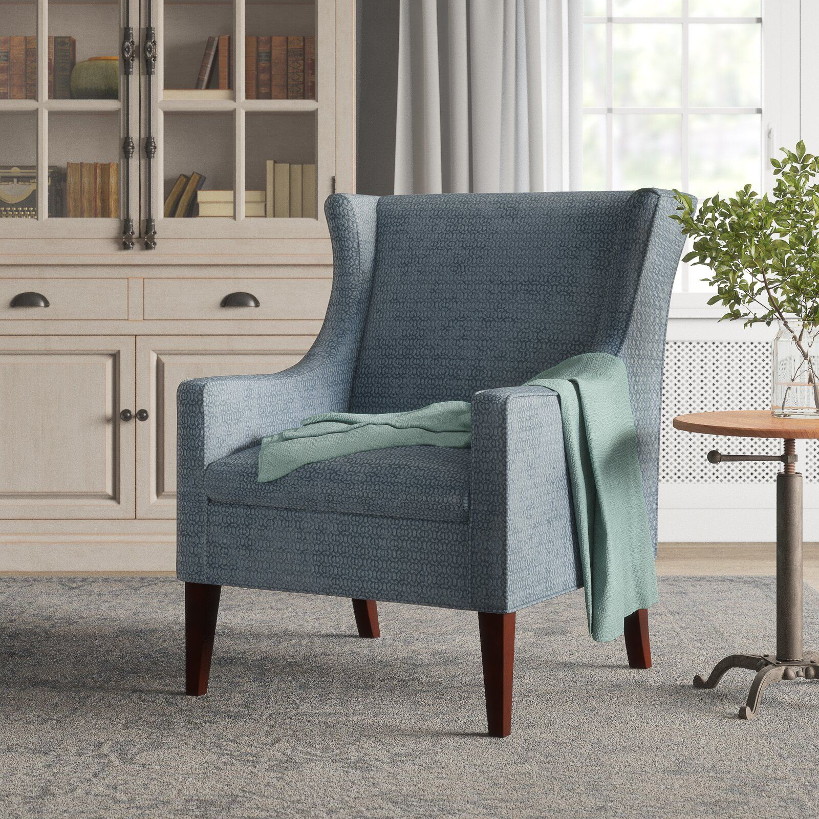 Matherville Wingback Chair $315 – Birch Lane In 2020 Inside Chagnon Wingback Chairs (View 13 of 15)