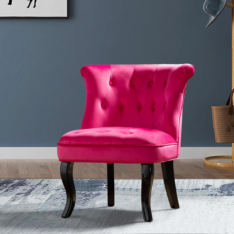 Maubara Lewisville Wingback Chair Regarding Maubara Tufted Wingback Chairs (View 8 of 15)