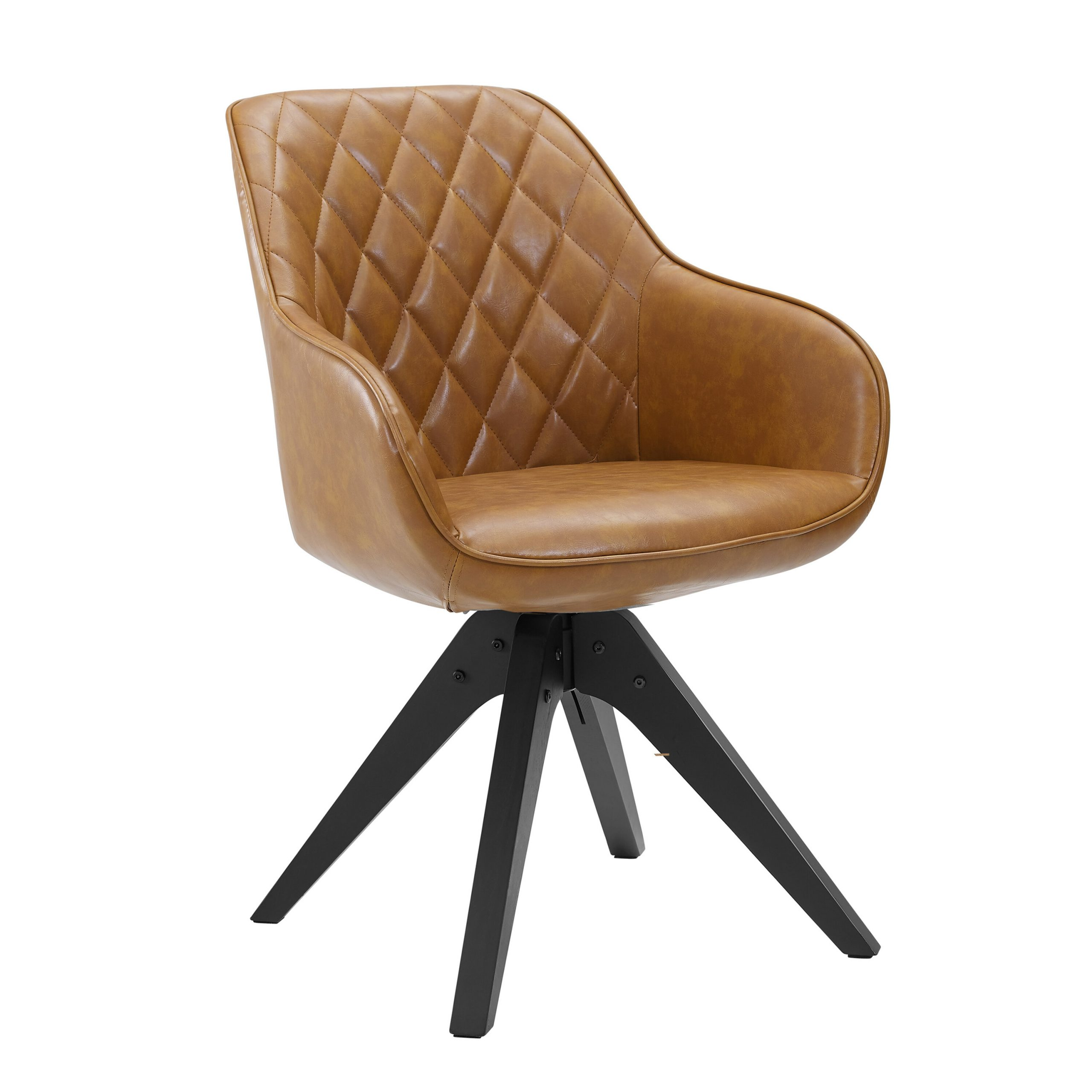 Metz Swivel Side Chair With Regard To Brister Swivel Side Chairs (View 6 of 15)
