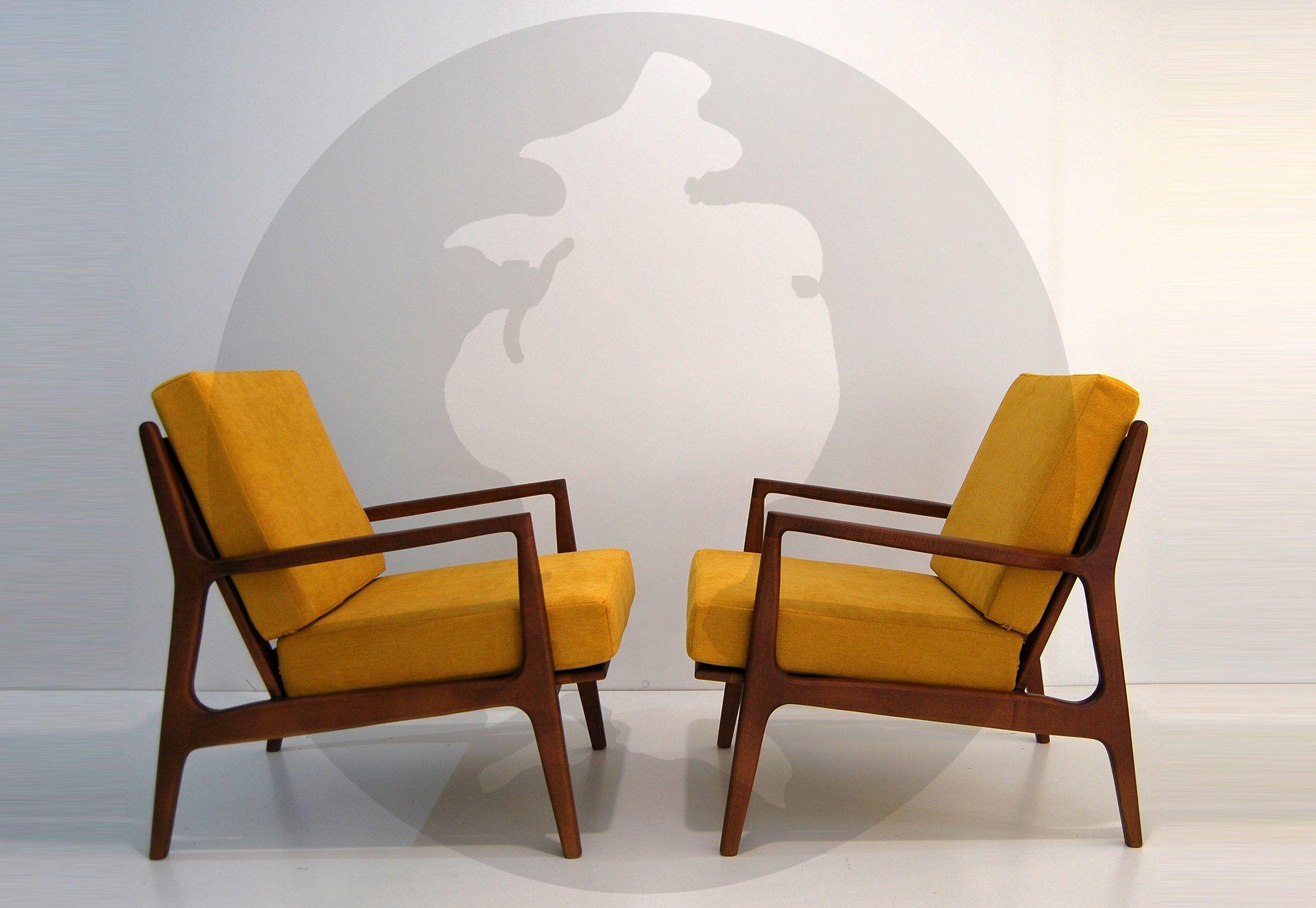 Mid Century Modern Armchair / Lounge Chair / Danish Style Regarding Harmoni Armchairs (View 5 of 15)