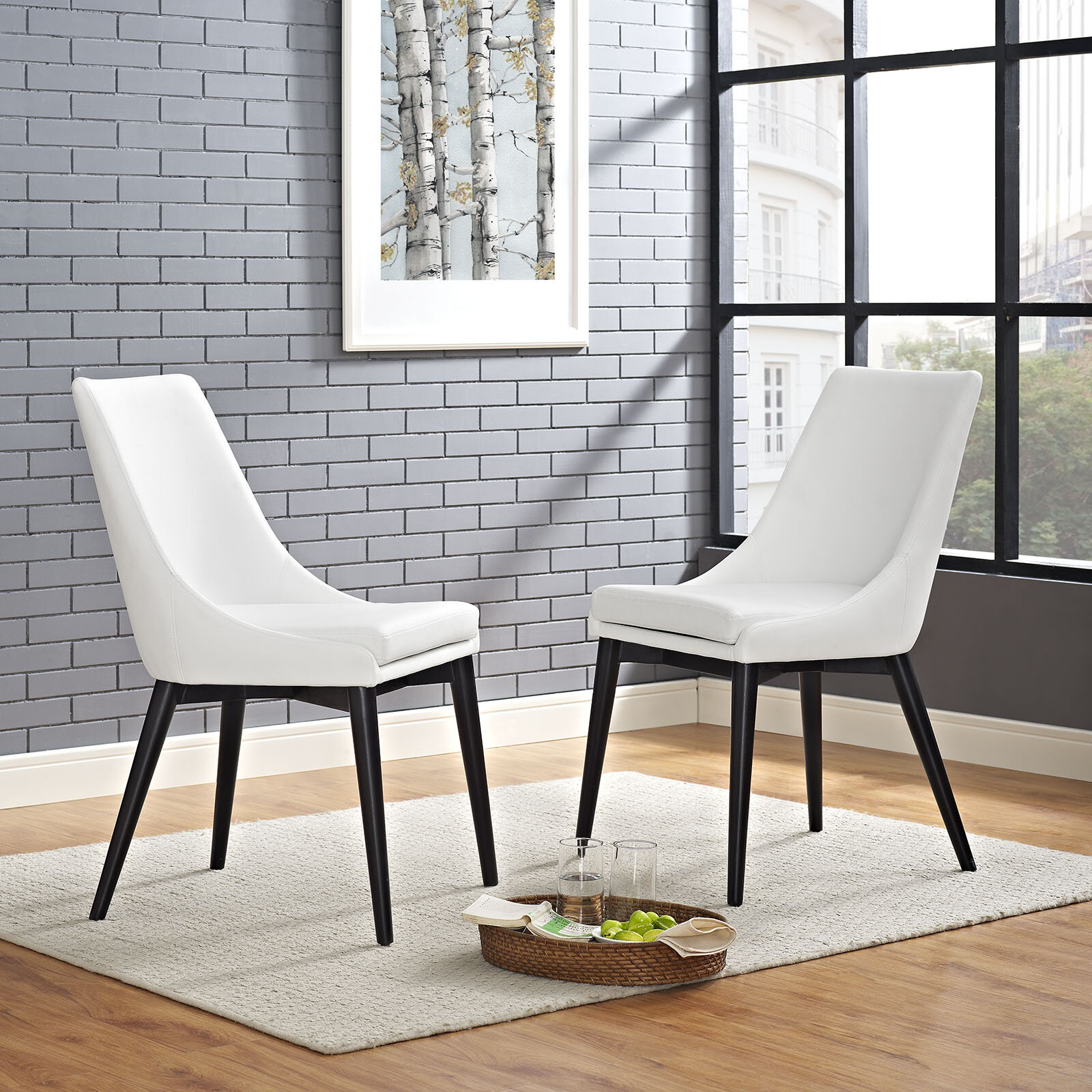 Minton Upholstered Dining Chair Throughout Carlton Wood Leg Upholstered Dining Chairs (View 7 of 15)