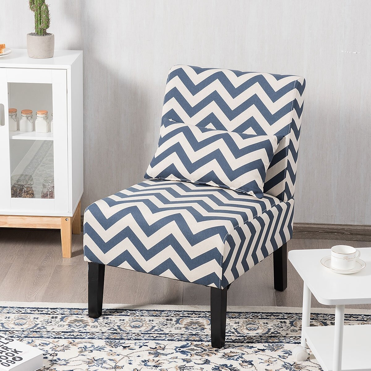 Modern & Contemporary Slipper Accent Chairs You'Ll Love In For Alush Accent Slipper Chairs (Set Of 2) (View 7 of 15)