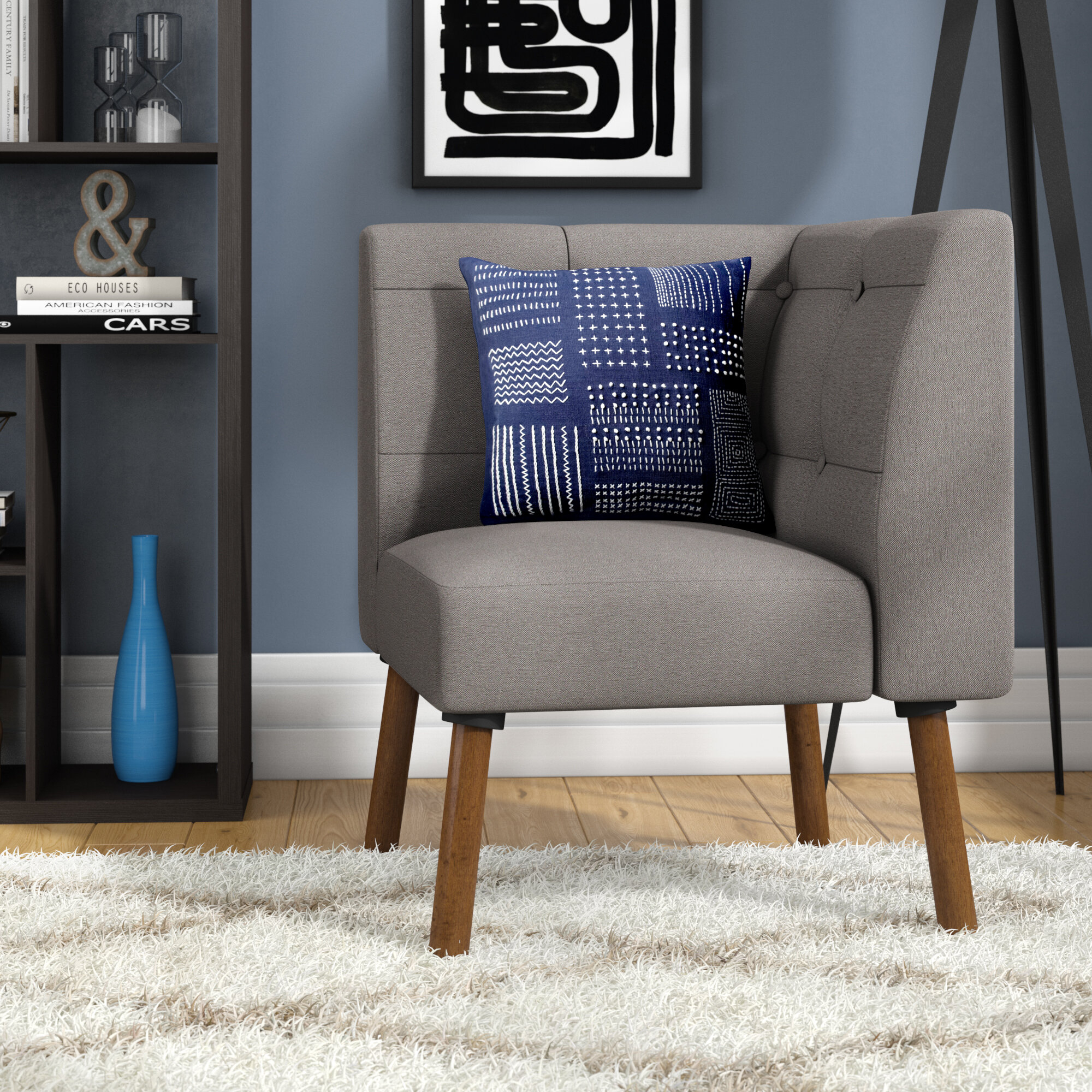 Modern & Contemporary Slipper Accent Chairs You'Ll Love In Intended For Bucci Slipper Chairs (View 4 of 15)