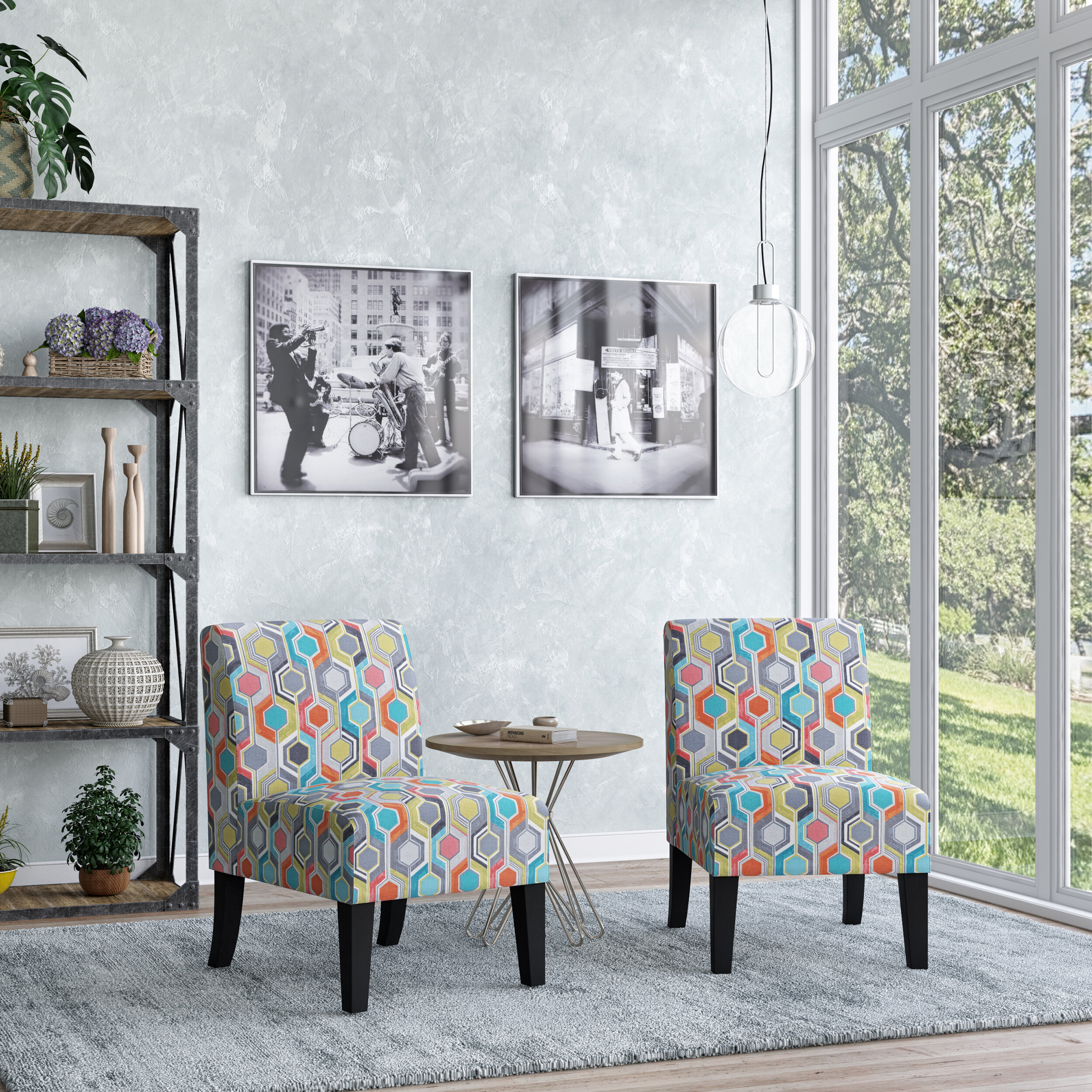 Modern & Contemporary Slipper Accent Chairs You'Ll Love In Intended For Goodspeed Slipper Chairs (Set Of 2) (View 9 of 15)