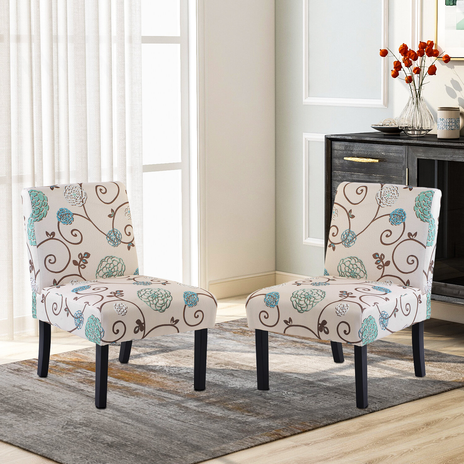 Modern & Contemporary Slipper Accent Chairs You'Ll Love In Pertaining To Goodspeed Slipper Chairs (Set Of 2) (View 4 of 15)