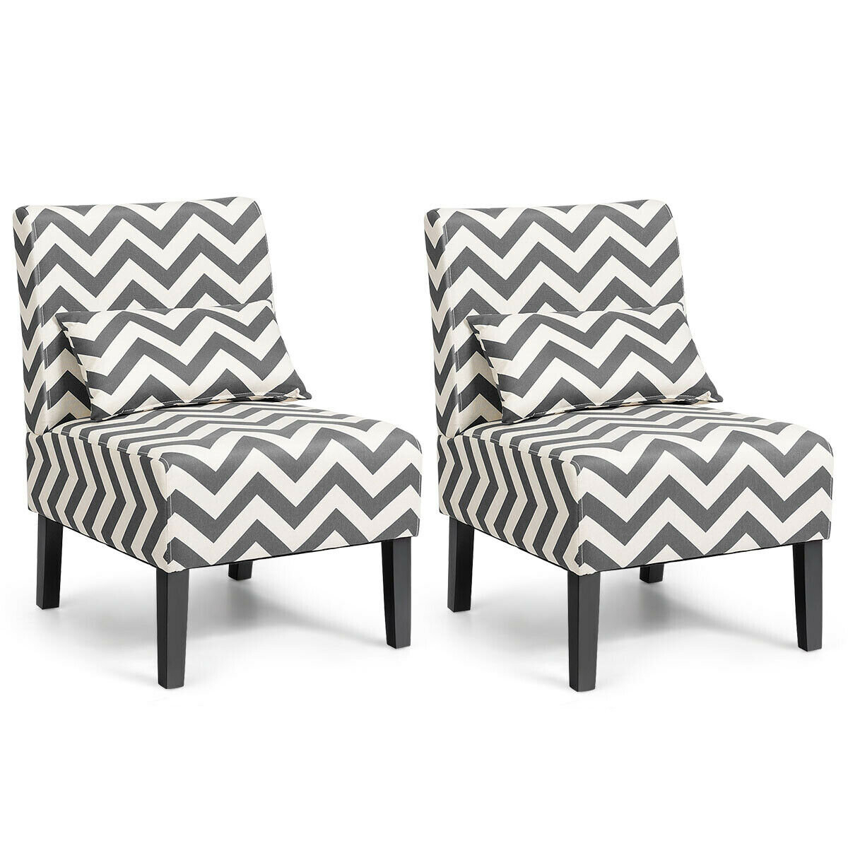 Modern & Contemporary Slipper Accent Chairs You'Ll Love In Throughout Alush Accent Slipper Chairs (Set Of 2) (View 4 of 15)
