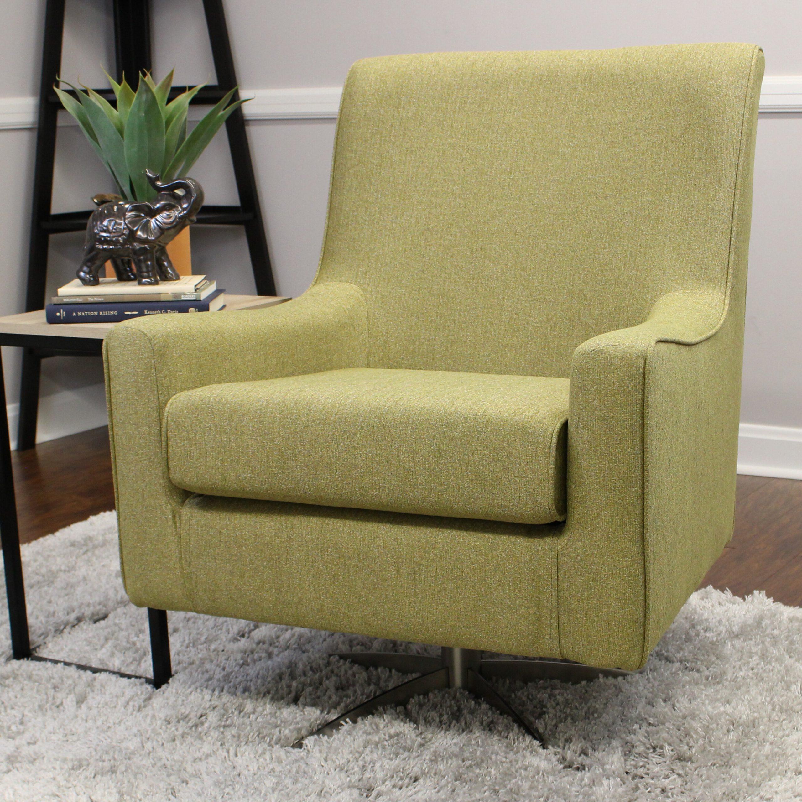 Modern Swivel Chairs | Wayfair With Zalina Swivel Armchairs (View 8 of 15)