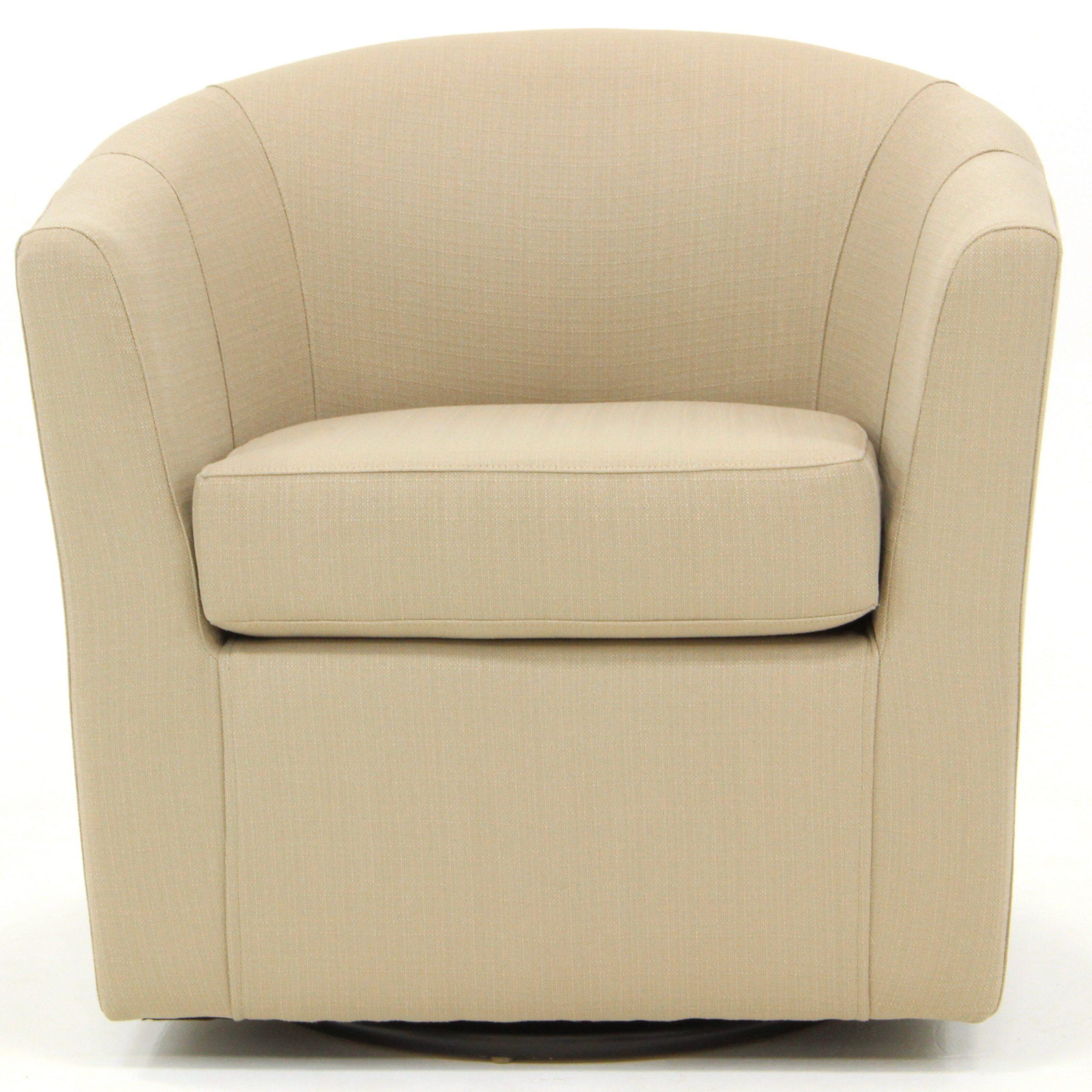 Molinari Swivel Barrel Chair Regarding Molinari Swivel Barrel Chairs (View 3 of 15)