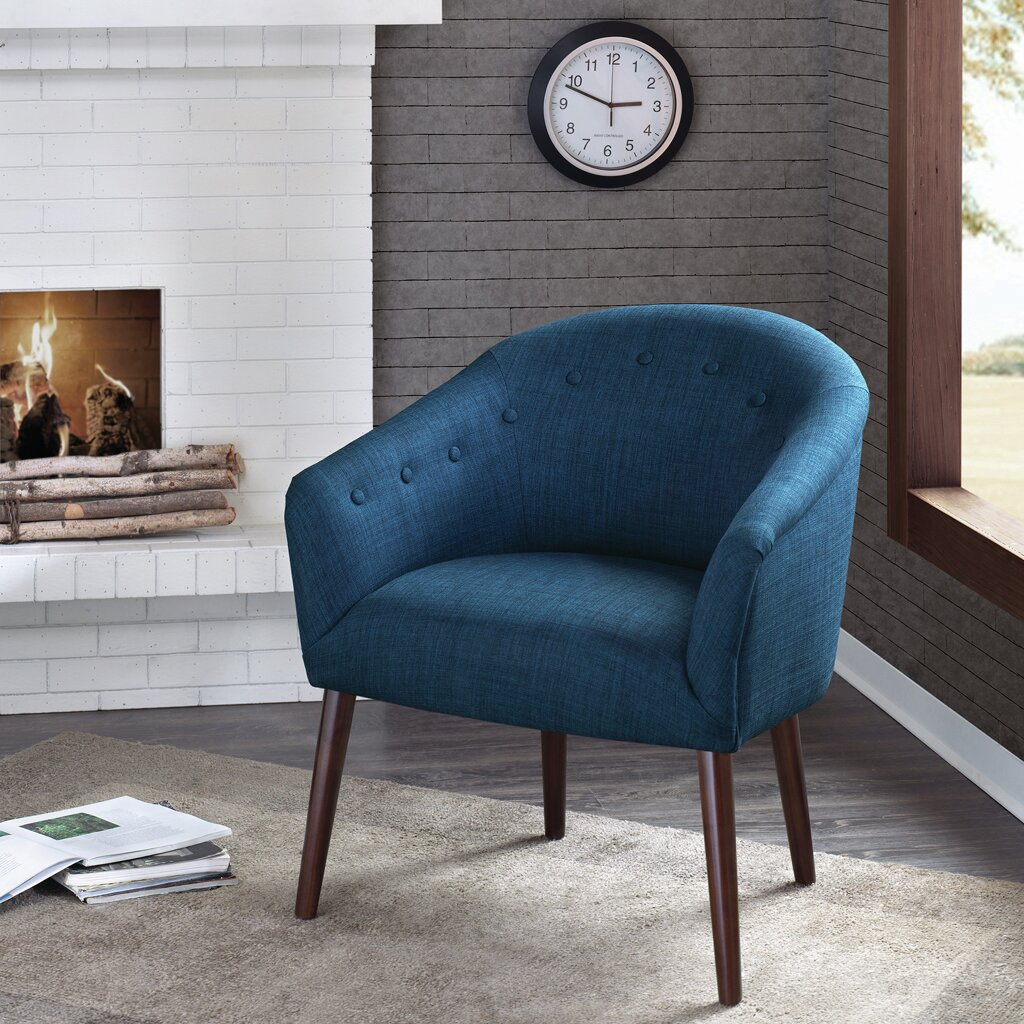Morganton Barrel Chair In Giguere Barrel Chairs (View 12 of 15)
