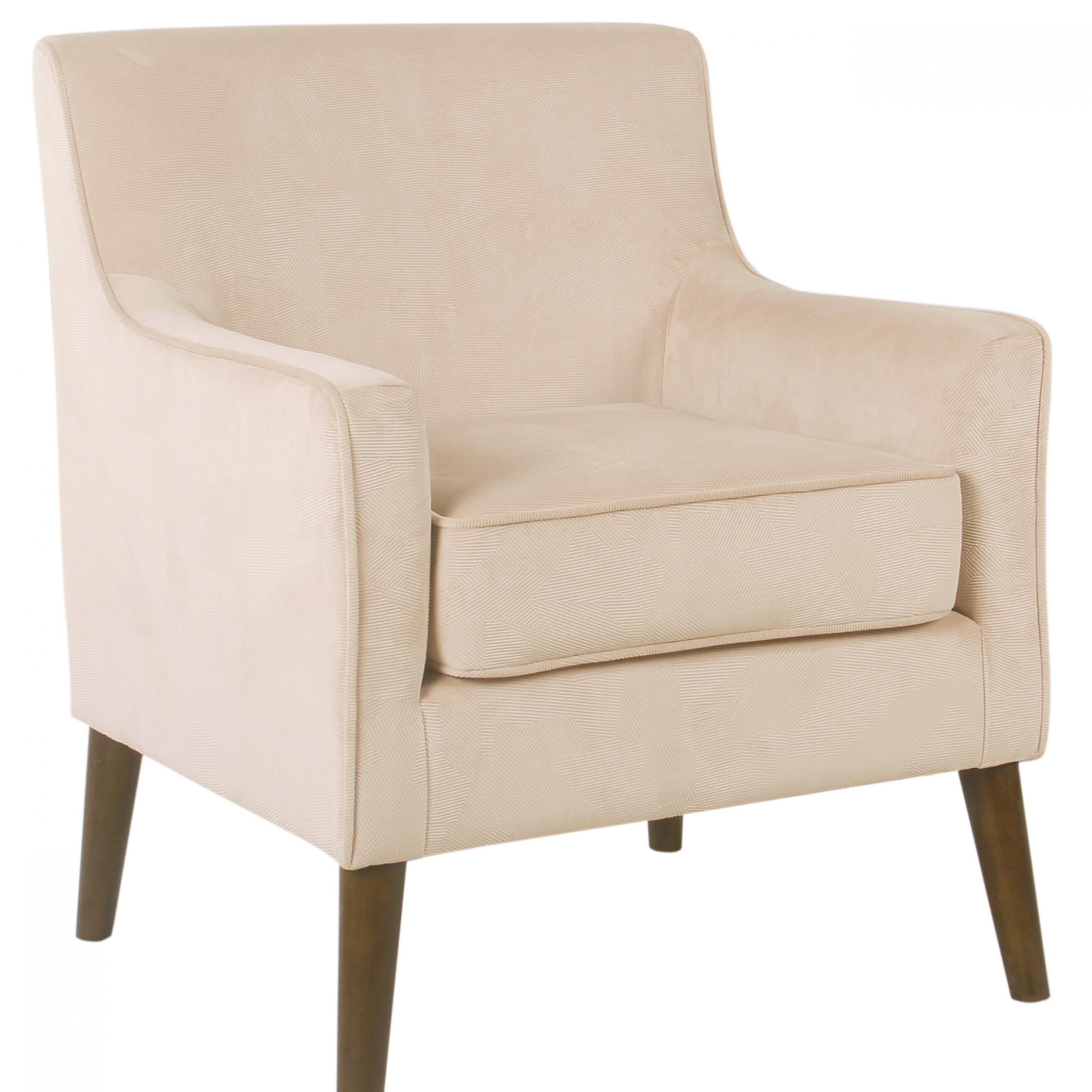 """Myia 26"""" W Polyester Armchair Within Leia Polyester Armchairs (View 12 of 15)"""